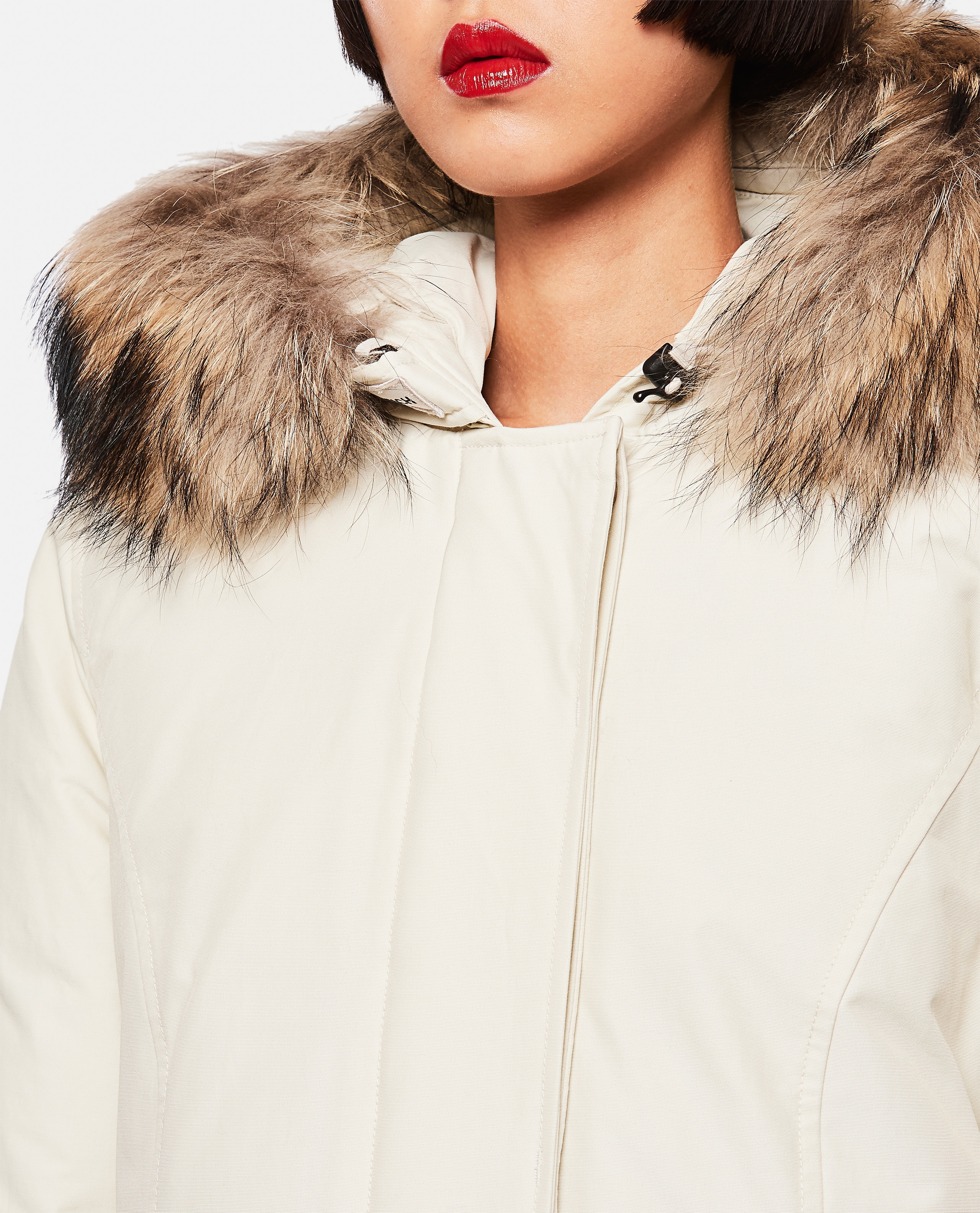 Parka in cotone Donna Woolrich 000275740040628 4