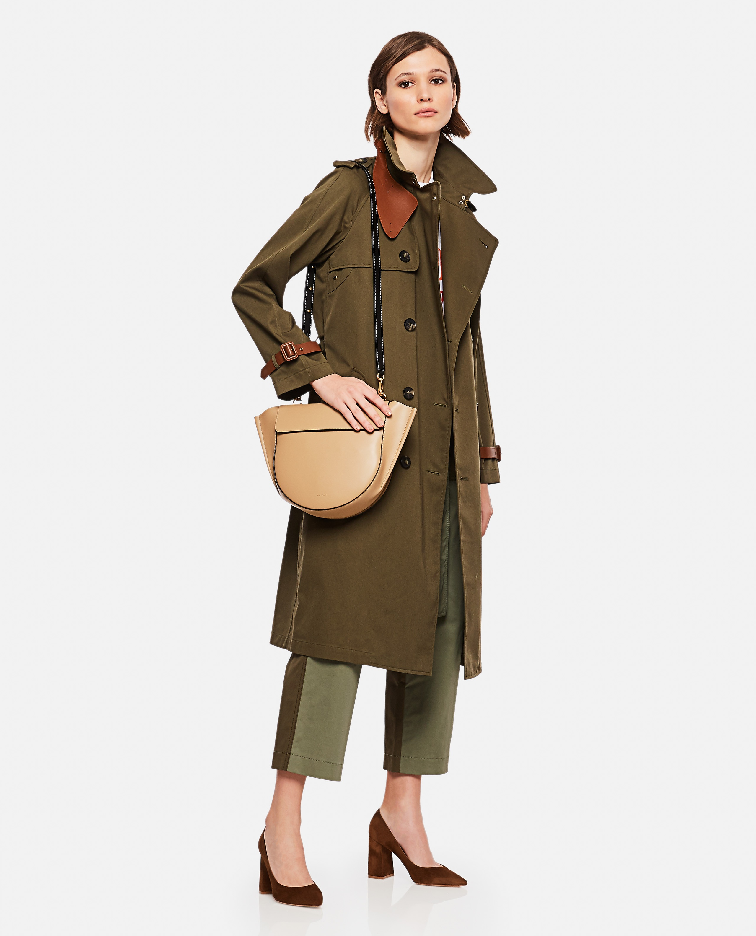 Double-breasted trench coat Women Ralph Lauren Collection 000221310032758 2