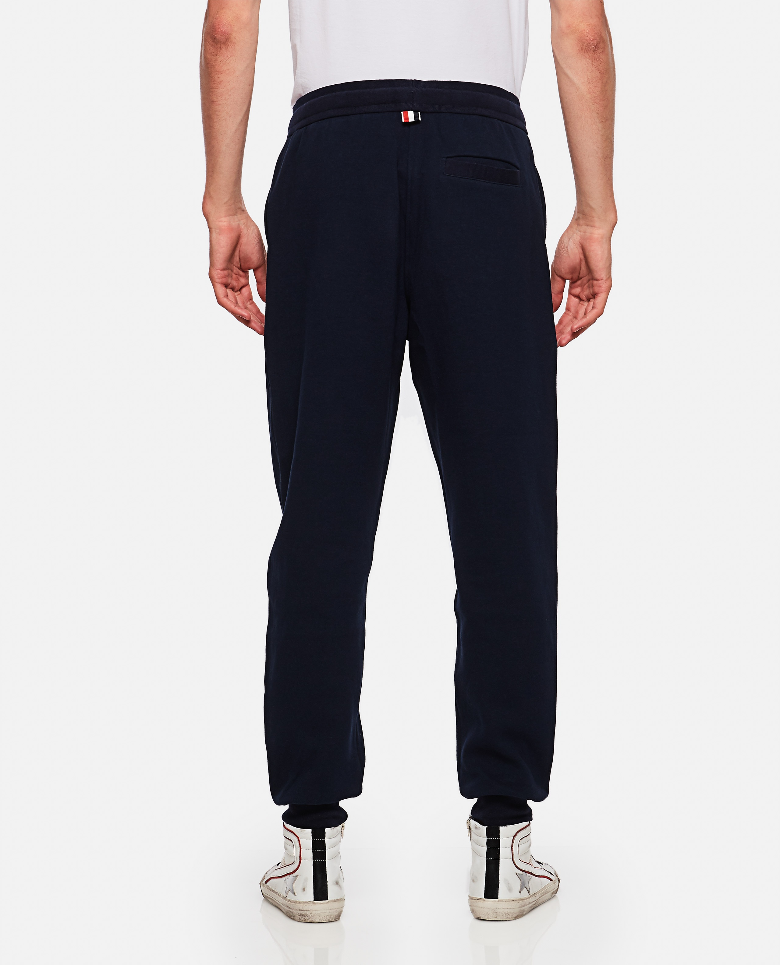 Sports trousers with drawstring Men Thom Browne 000253550037452 3