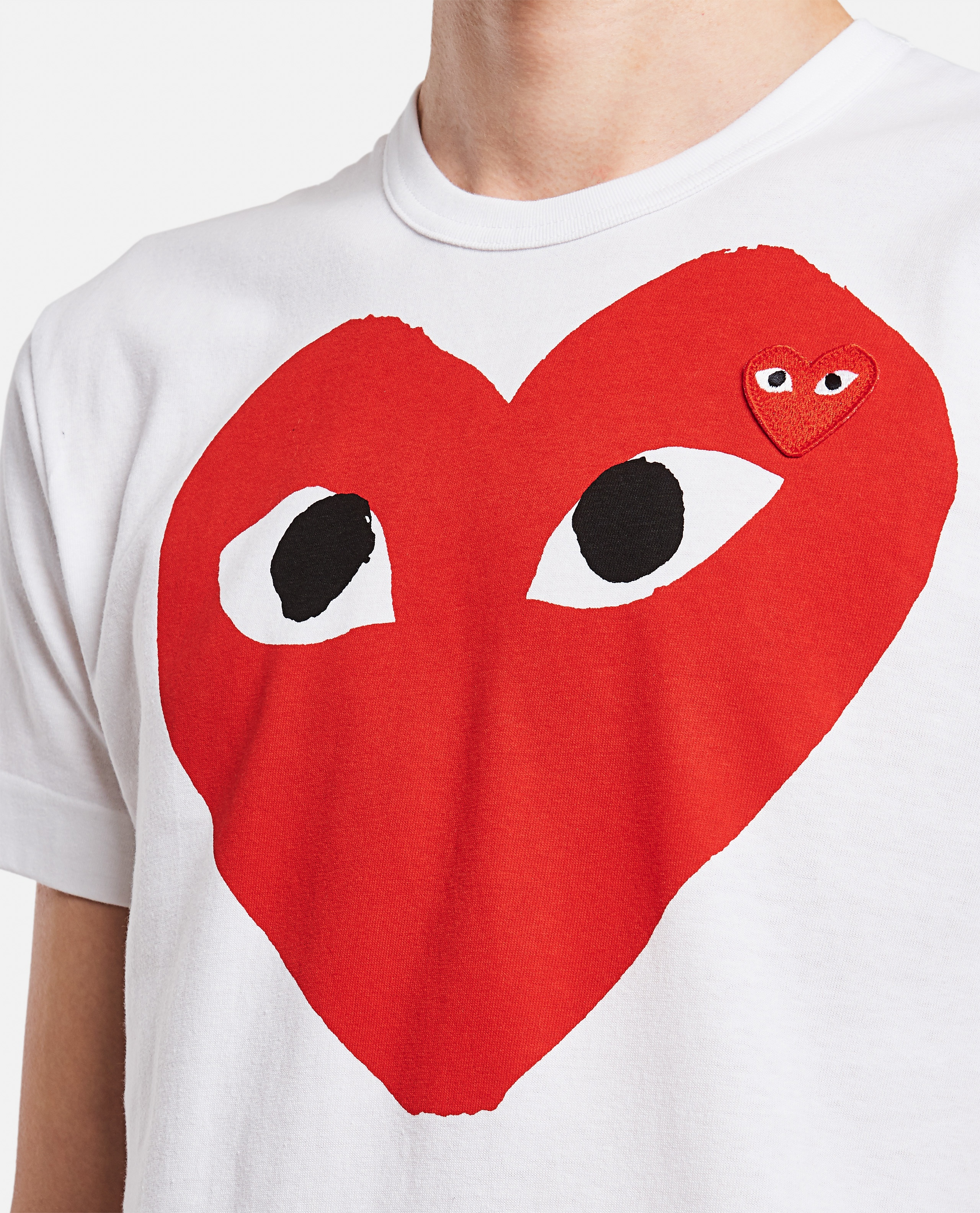 T-shirt with print Men Comme des Garcons Play 000106970016293 4
