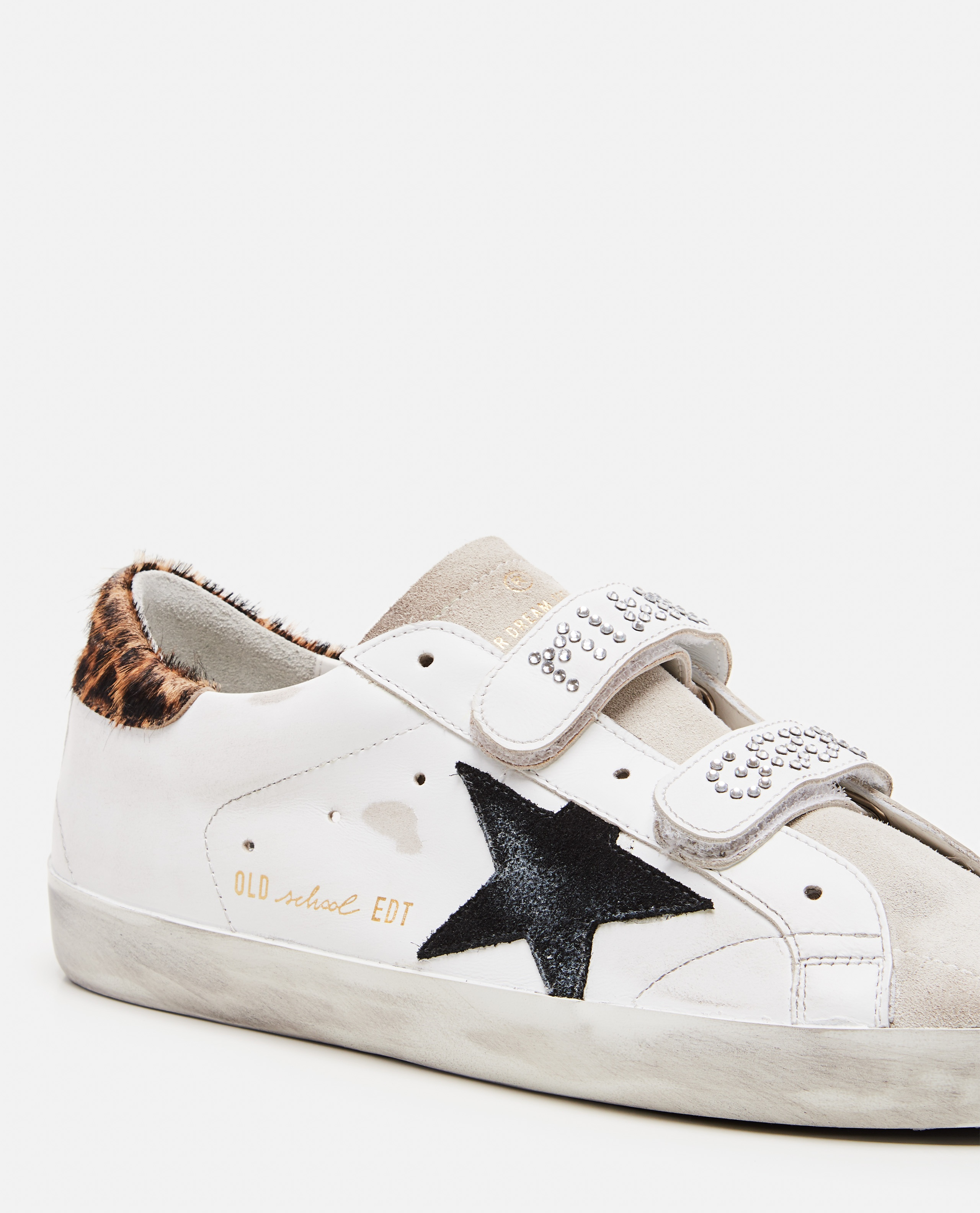 Sneaker  In Pelle Old School Donna Golden Goose 000286770042300 4