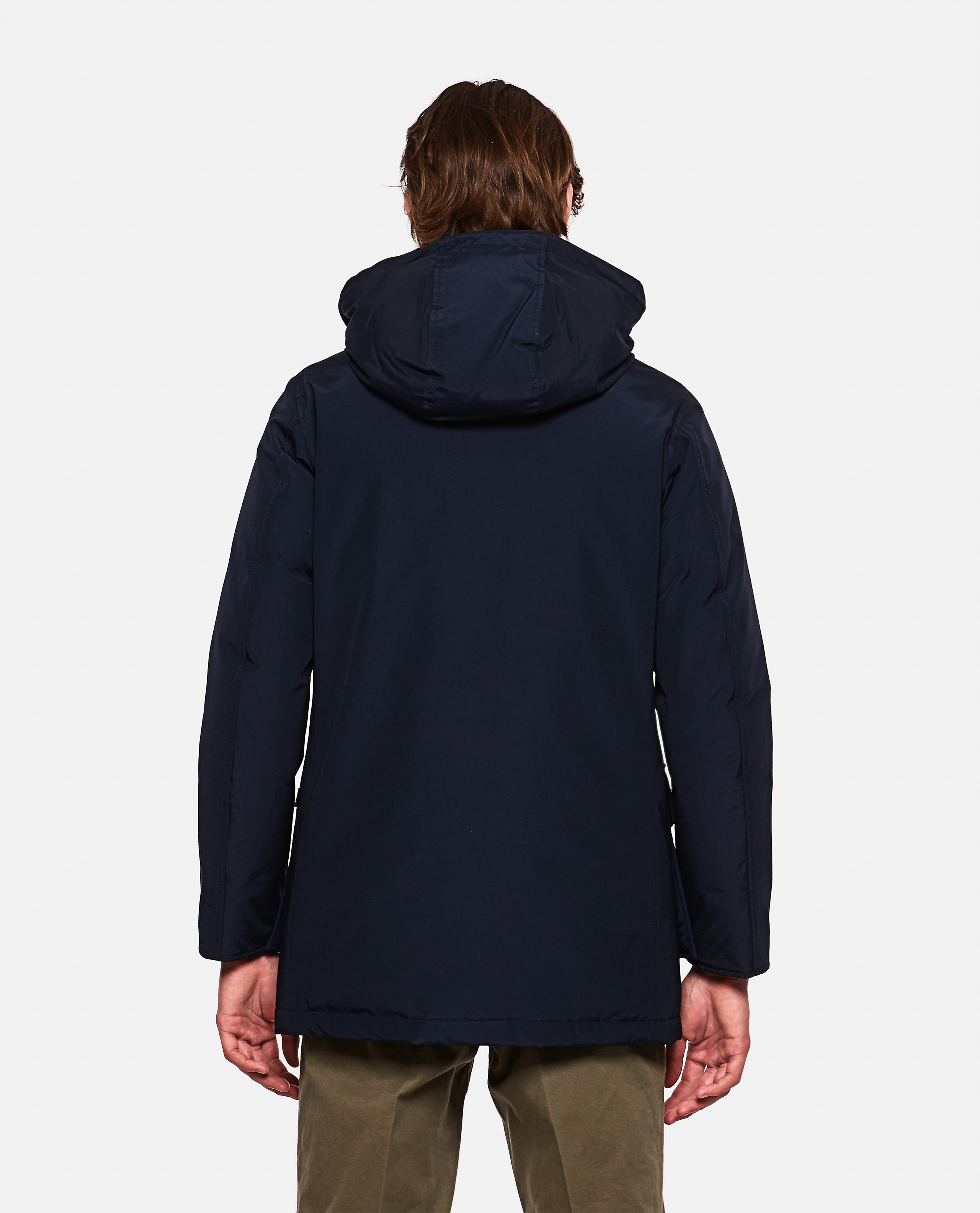 Padded coat with hood  Men Woolrich 000279250041179 3