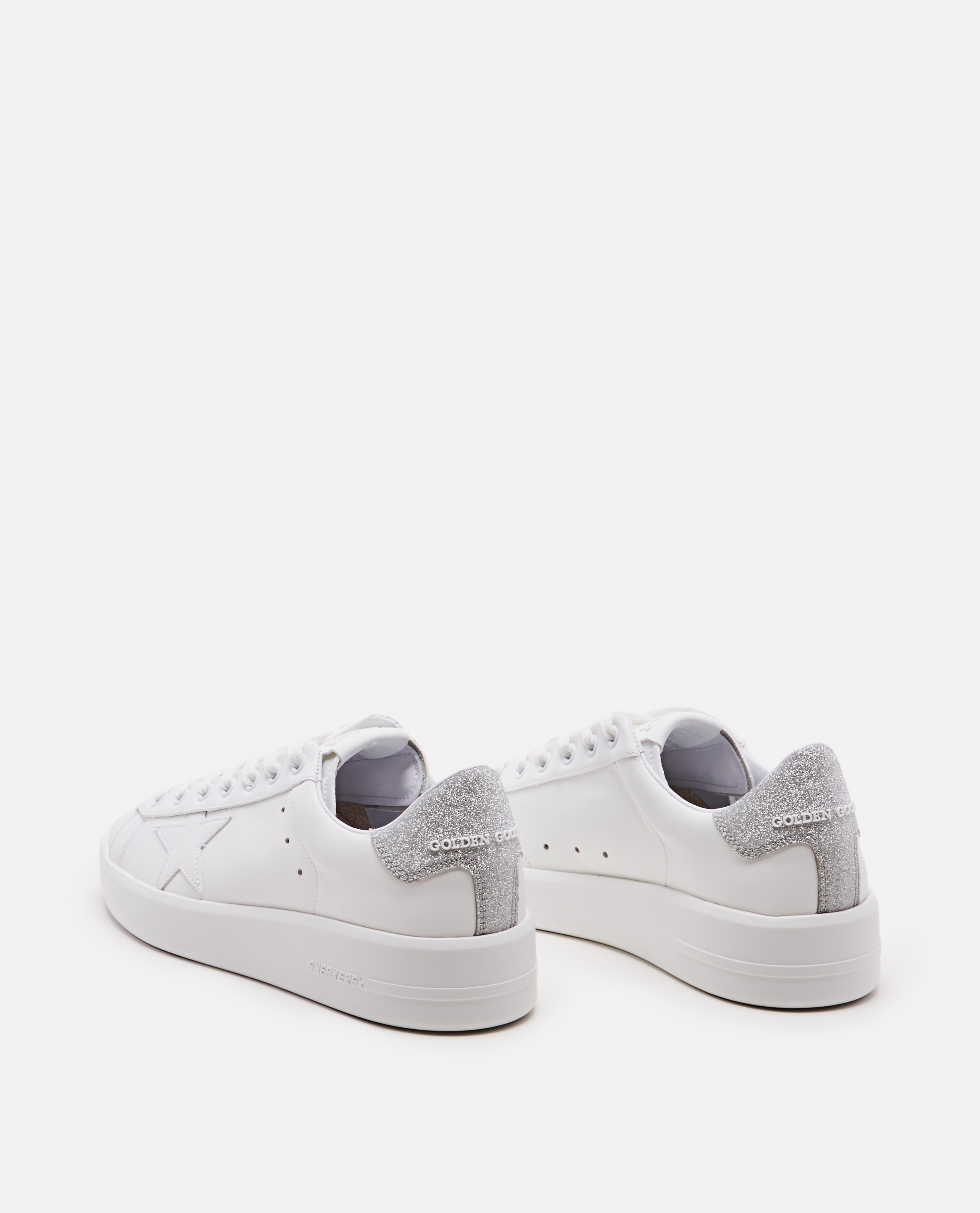 White leather sneakers  Women Golden Goose 000215590031979 3