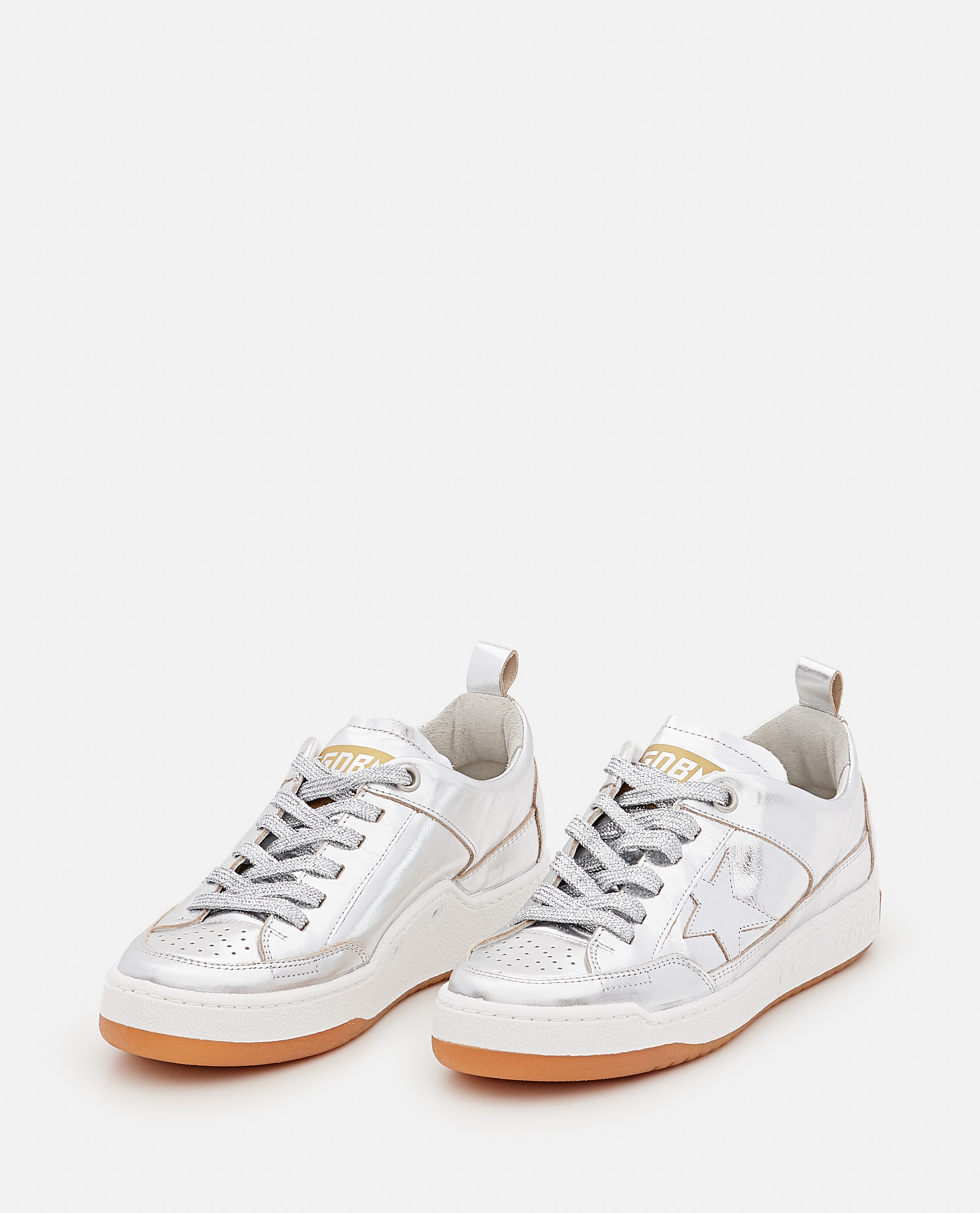 YEAH LAMINATED LEATHER SNEAKERS Women Golden Goose 000322260047121 2