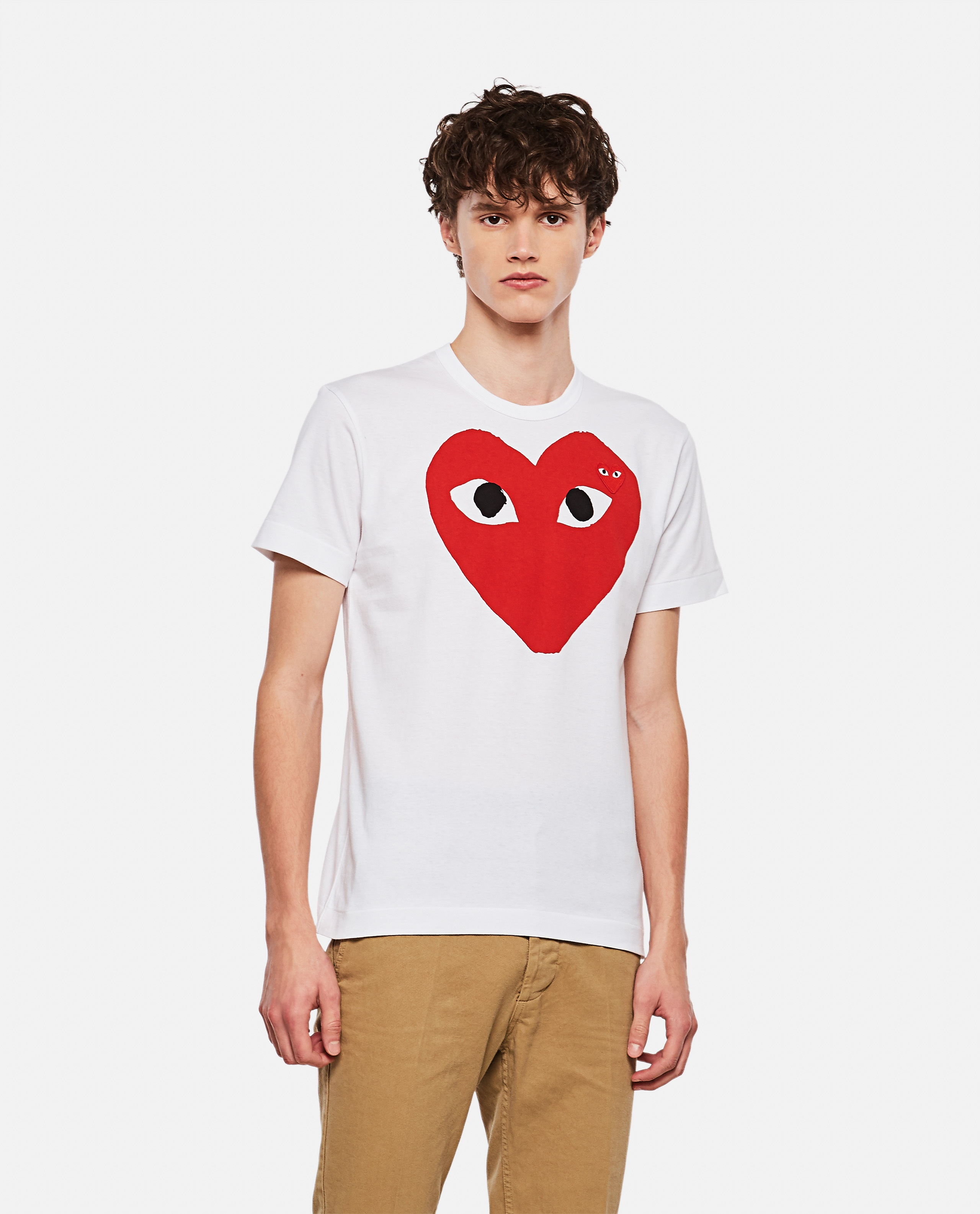 T-shirt with print Men Comme des Garcons Play 000106970016293 1