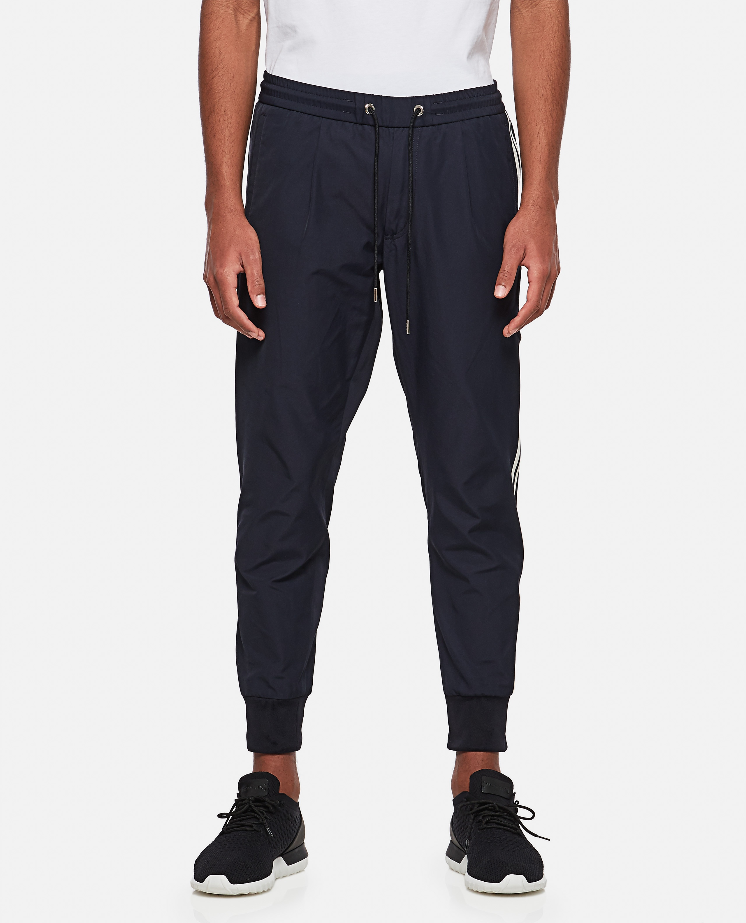Jogging trousers with side band Men Moncler 000308560045254 1