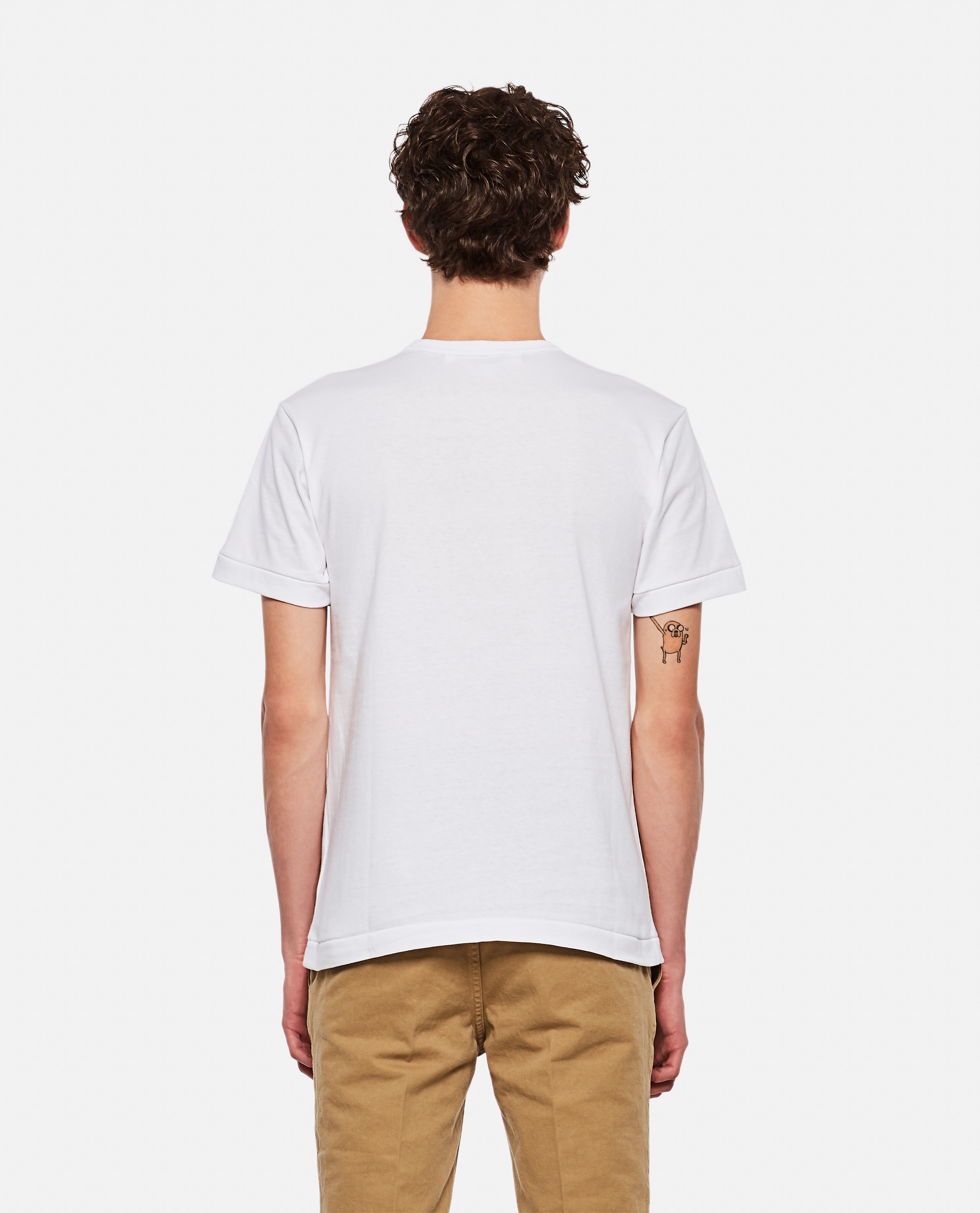 T-shirt with hearts Men Comme des Garcons Play 000267360039451 3