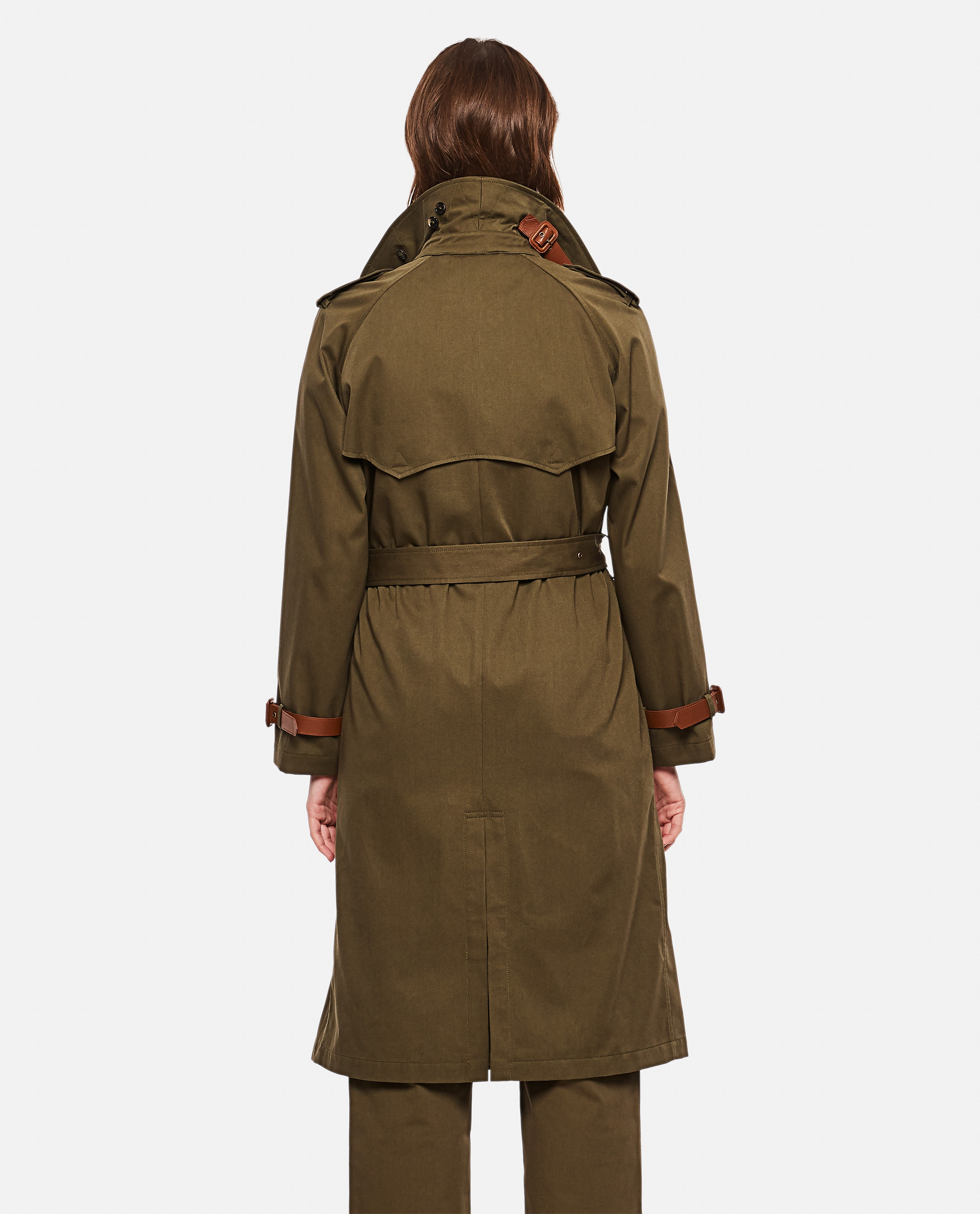 Double-breasted trench coat Women Ralph Lauren Collection 000221310032758 3