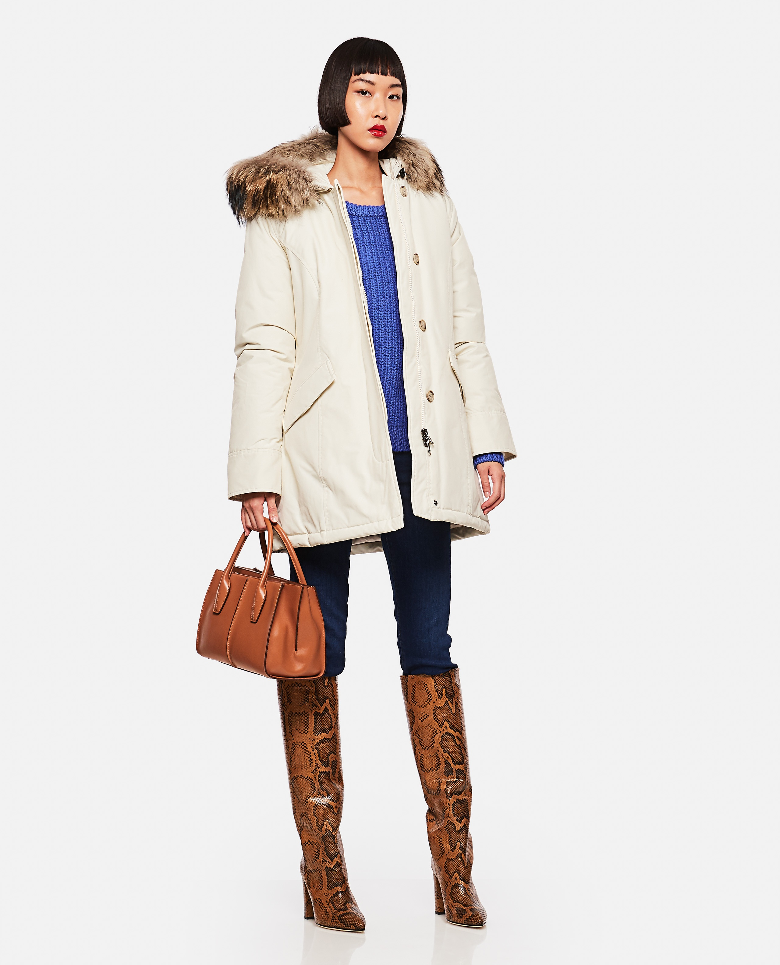 Parka in cotone Donna Woolrich 000275740040628 2