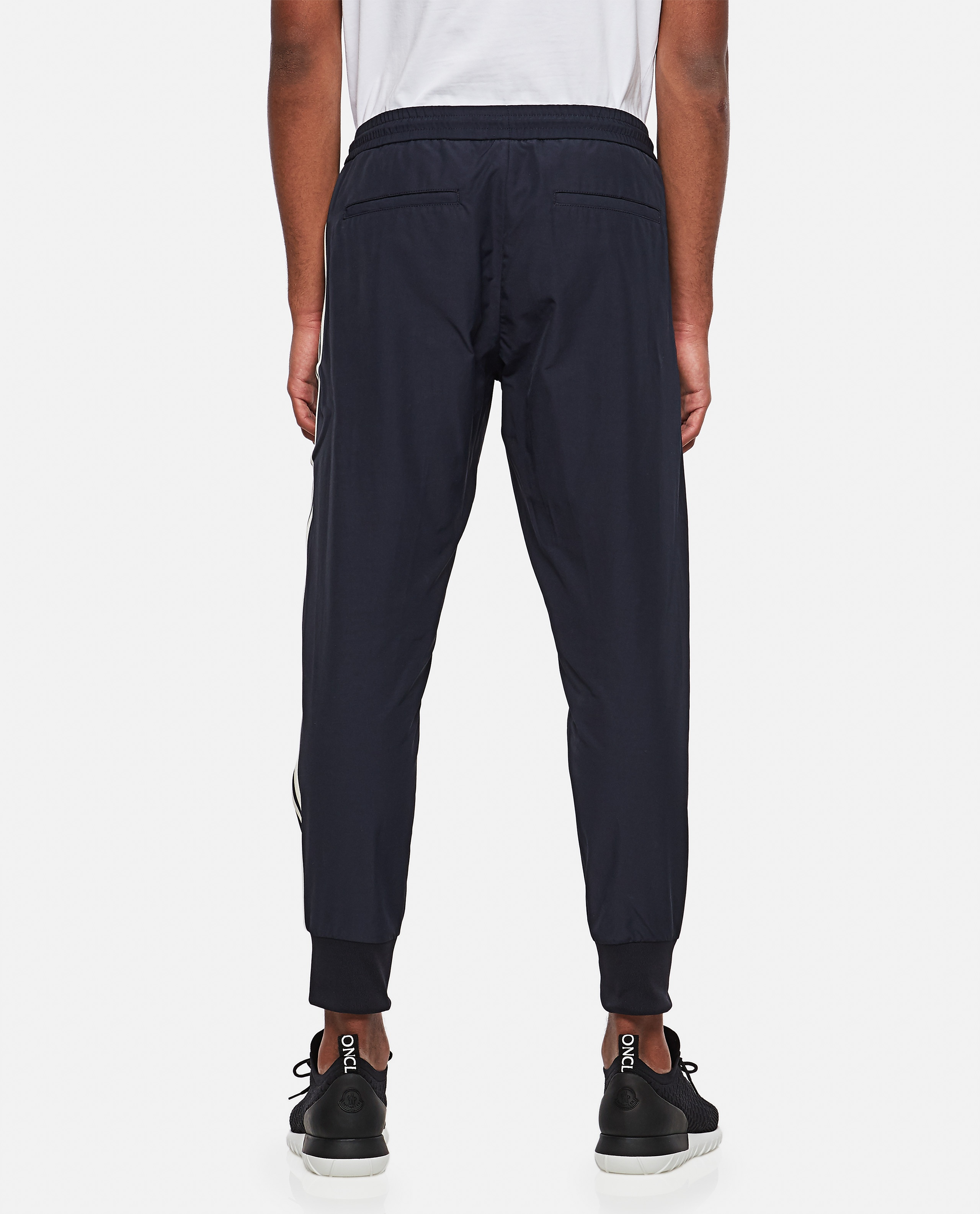 Jogging trousers with side band Men Moncler 000308560045254 3