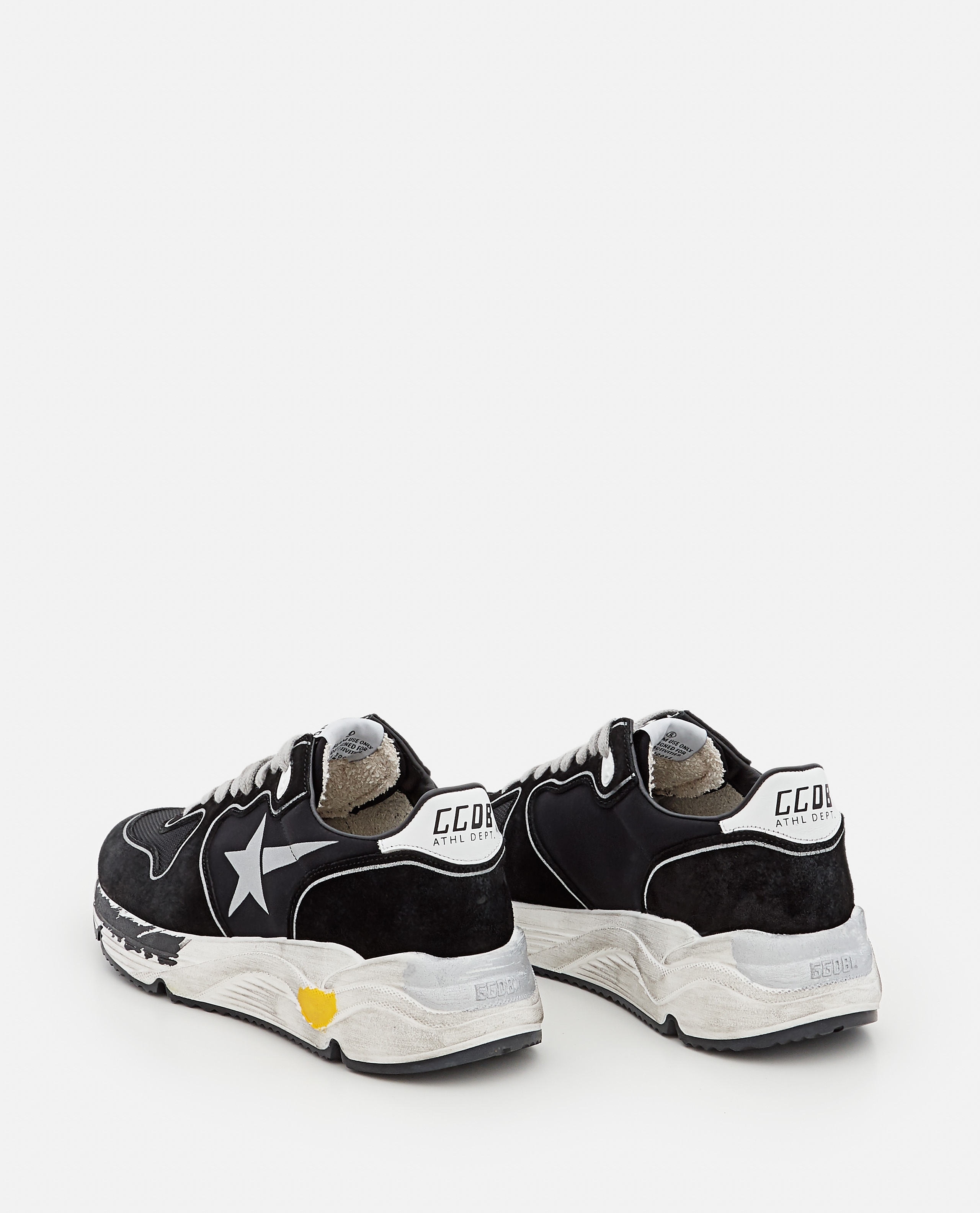 RUNNING SOLE LYCRA AND LEATHER SNEAKERS Women Golden Goose 000322020047097 3
