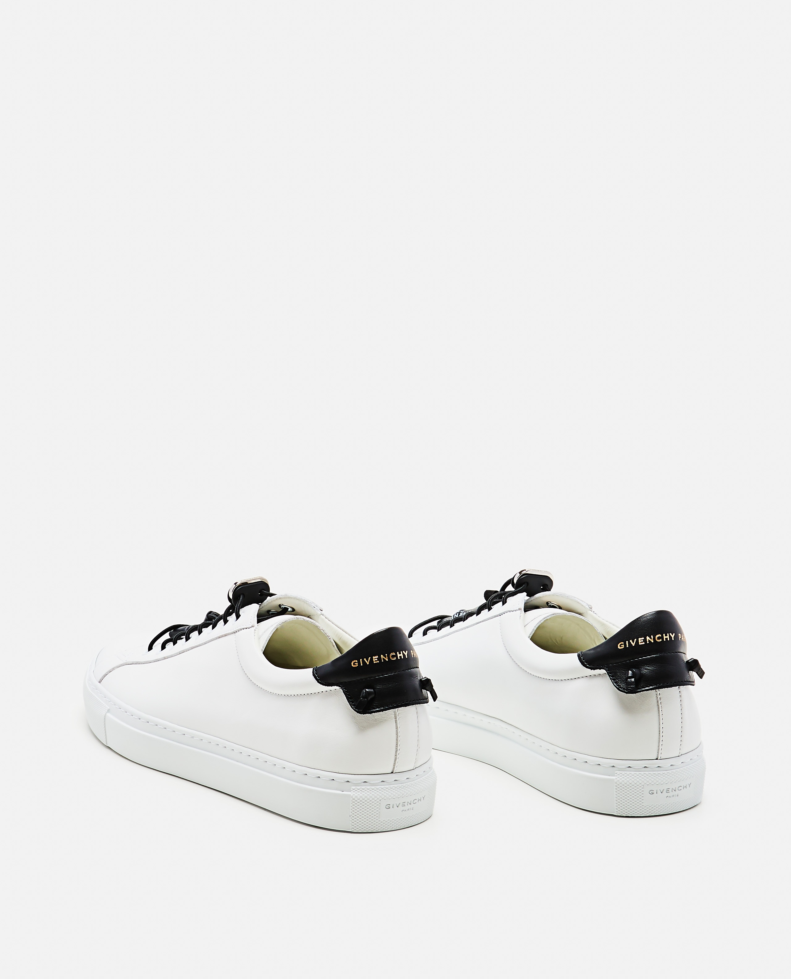 MATT LEATHER SNEAKERS WITH SPORTY LACES Men Givenchy 000253320037421 3