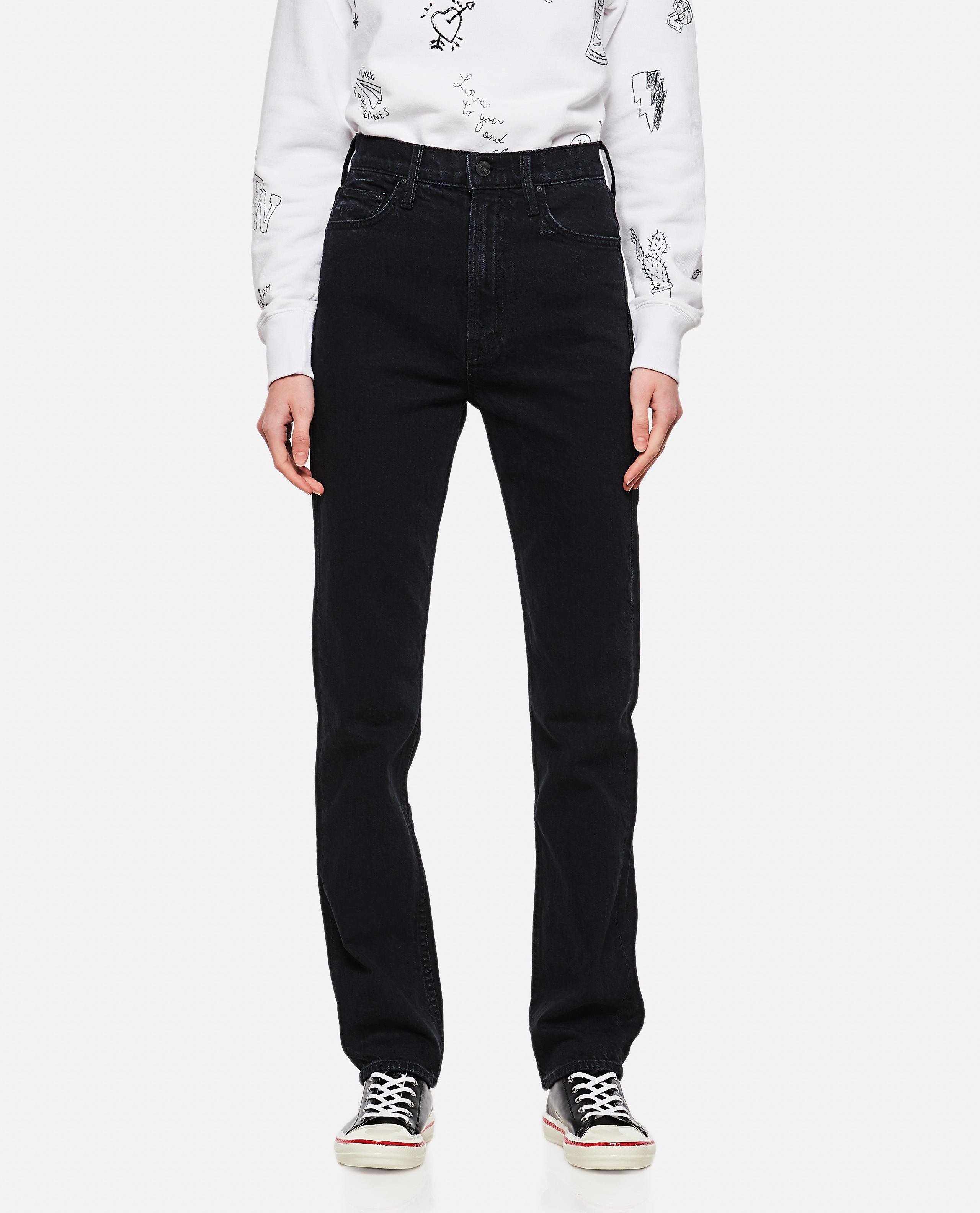 Rider Skimp high-waisted jeans Donna Mother 000289900042704 1