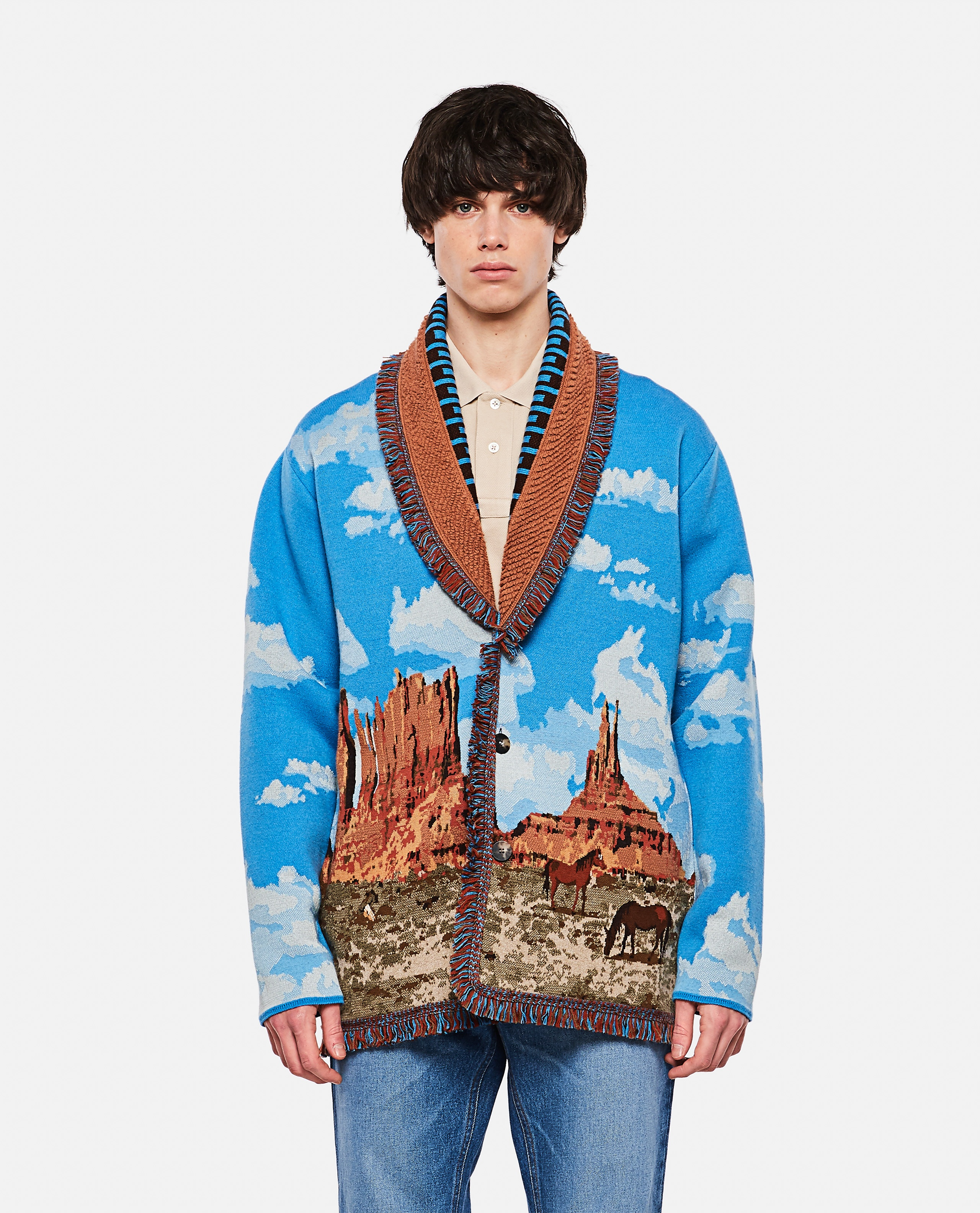 The Monument Valley Cashmere Cardigan Men Alanui 000305730044830 1