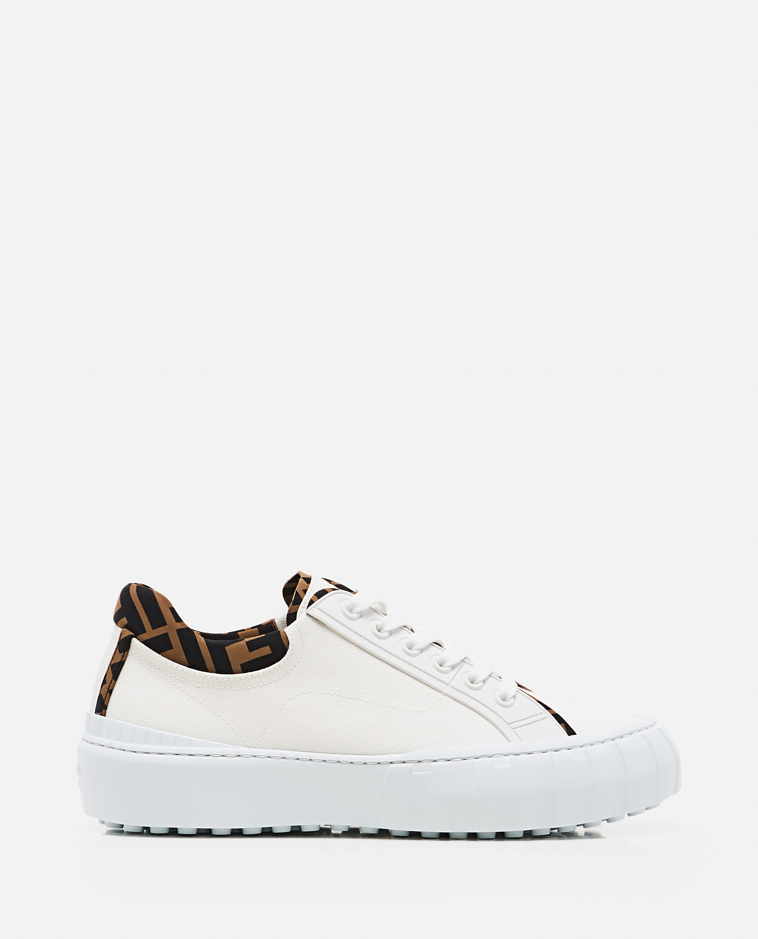 Low top Fendi Force sneaker in canvas Uomo Fendi 000310410045517 1