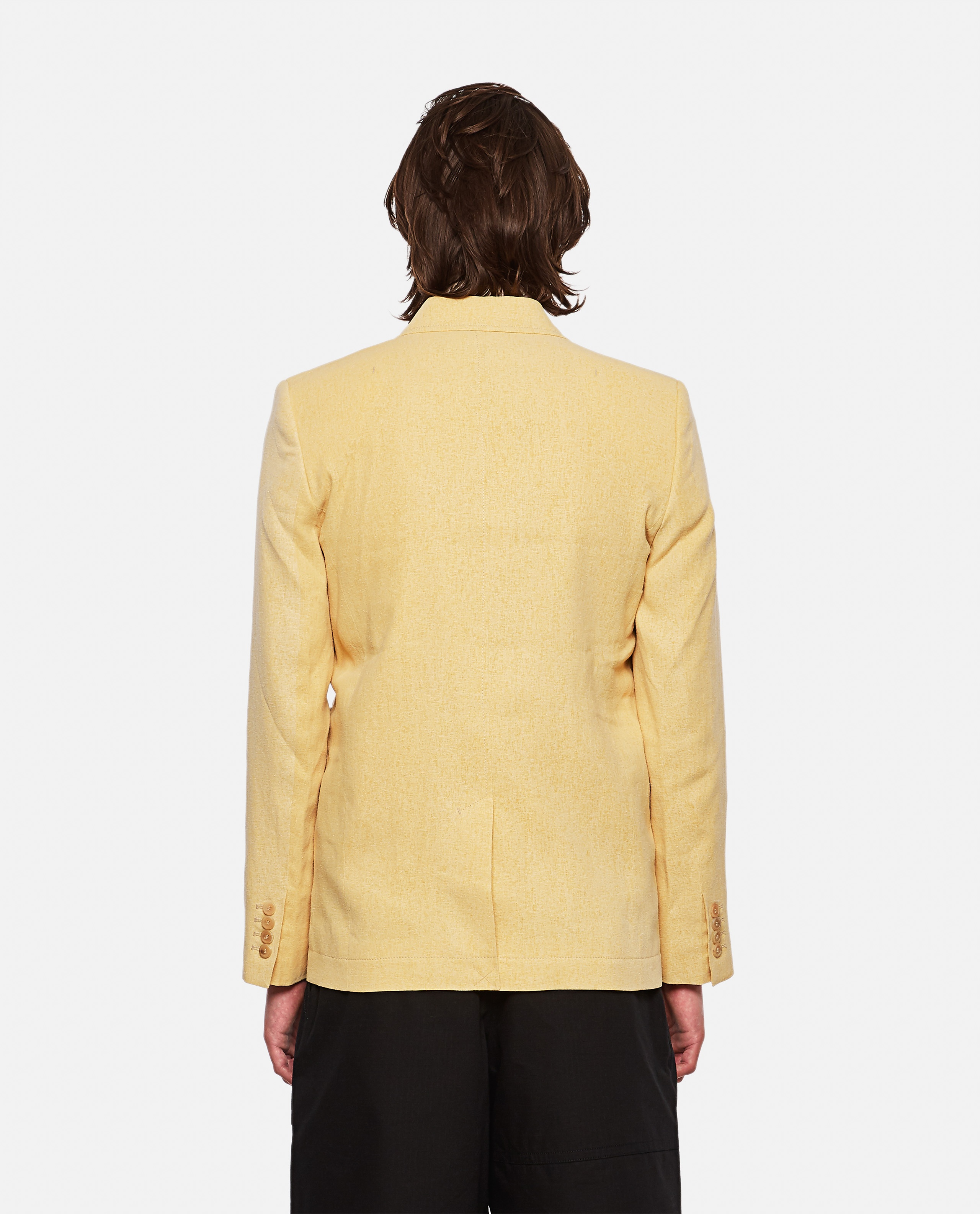 Linen blend jacket The Moulin dress Men Jacquemus 000293620043232 3