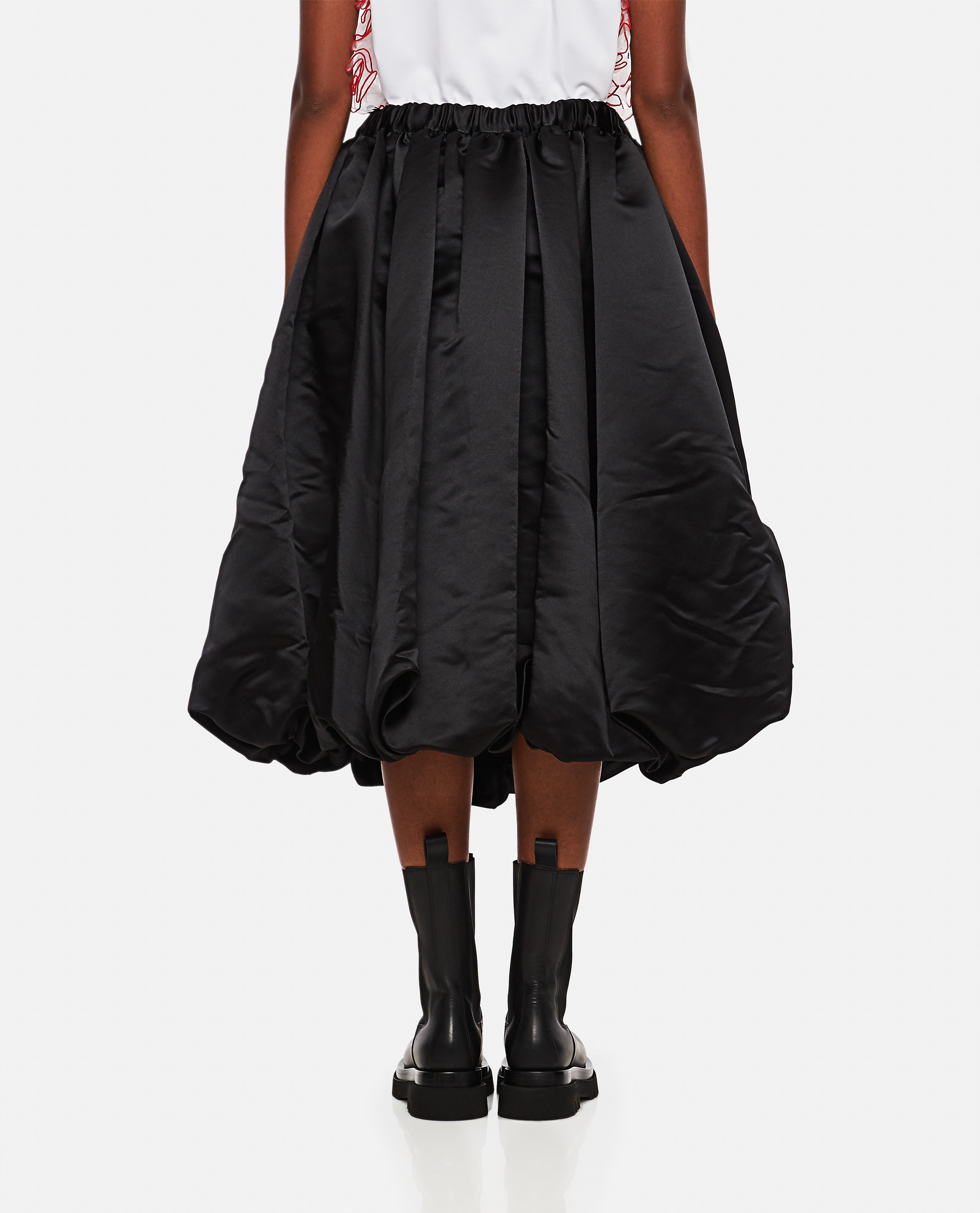 Gonna a palloncino in raso Donna Comme des Garcons 000275630040608 3