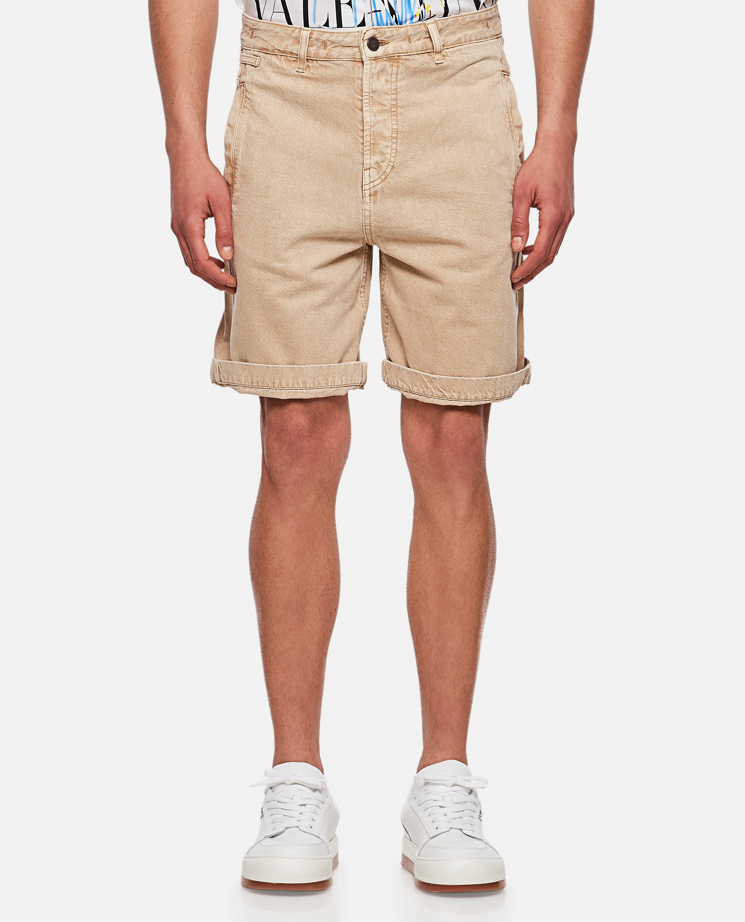 Le short de Nîmes Casual denim shorts Men Jacquemus 000293900043260 1