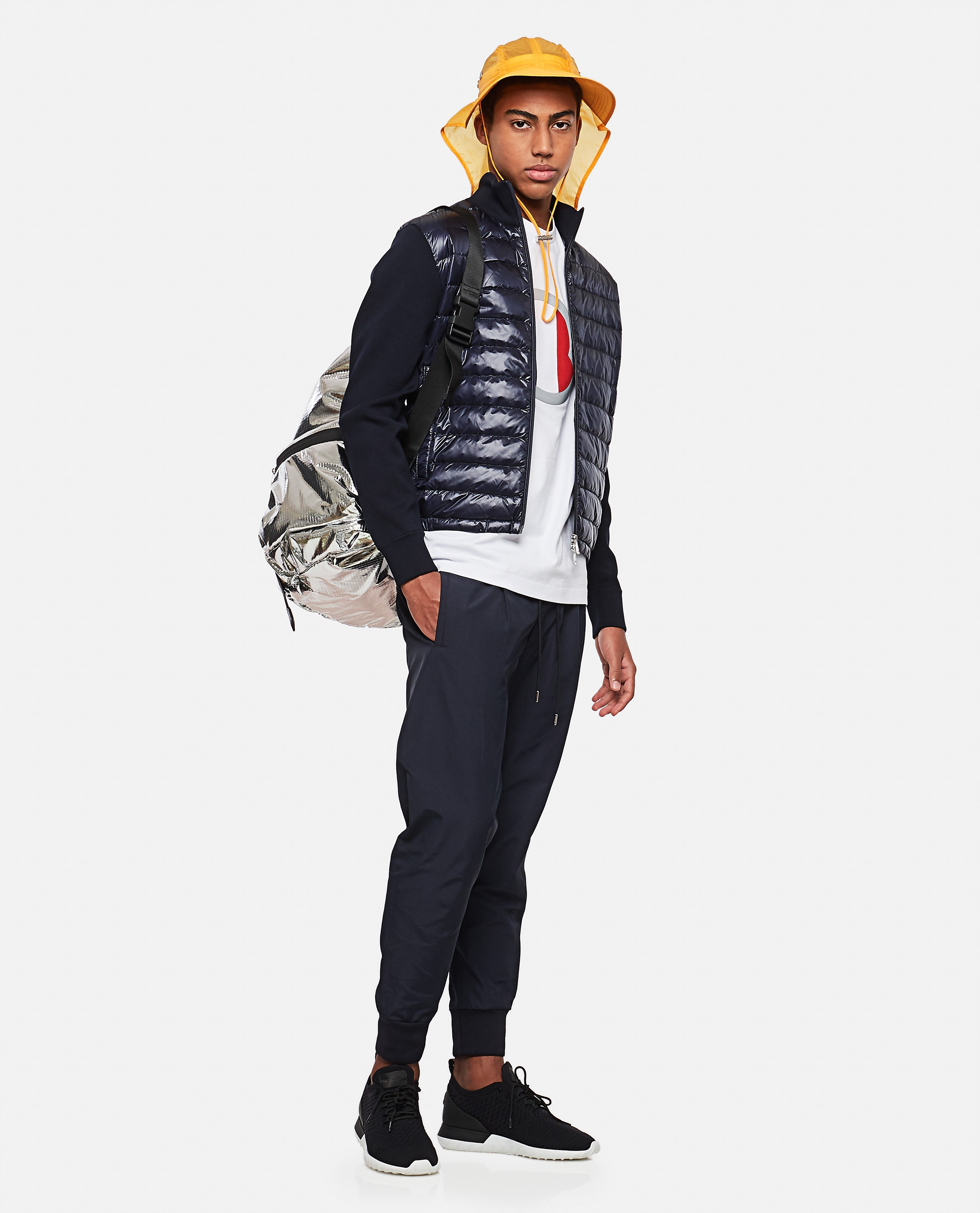 Jogging trousers with side band Men Moncler 000308560045254 2
