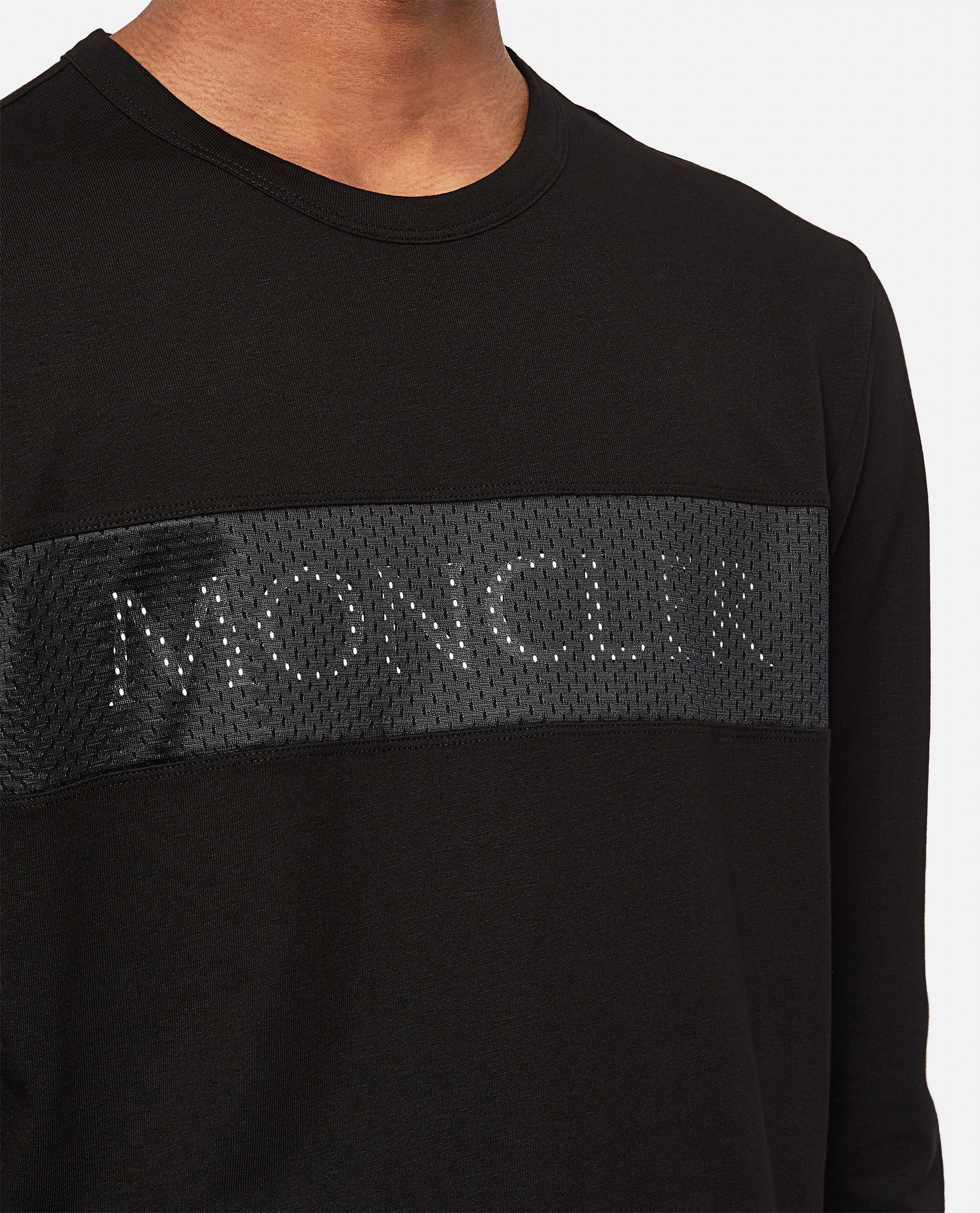 T-shirt with sponge logo application Men Moncler 000308600045269 4