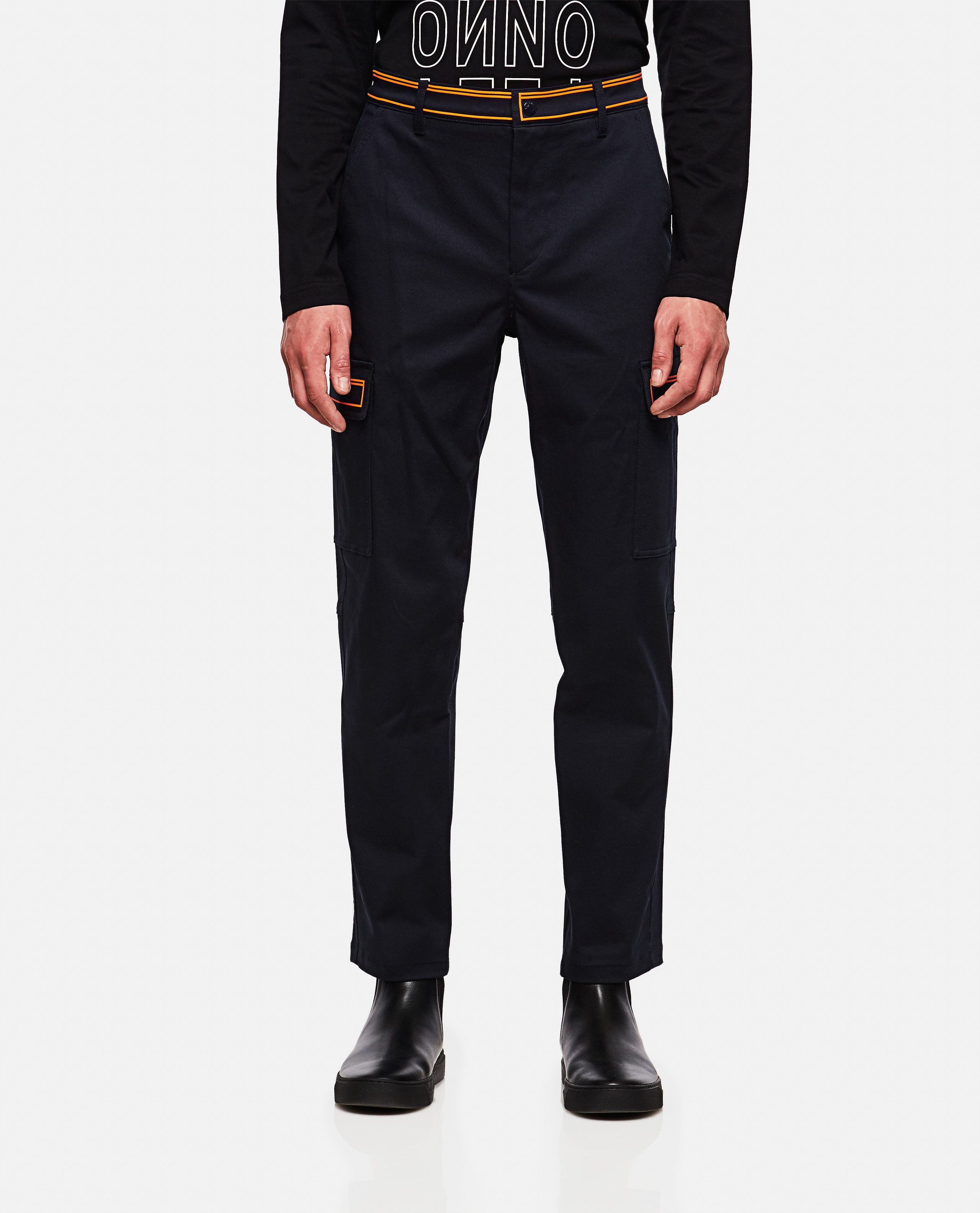 Trousers with contrasting detail Men Valentino 000263550038963 1