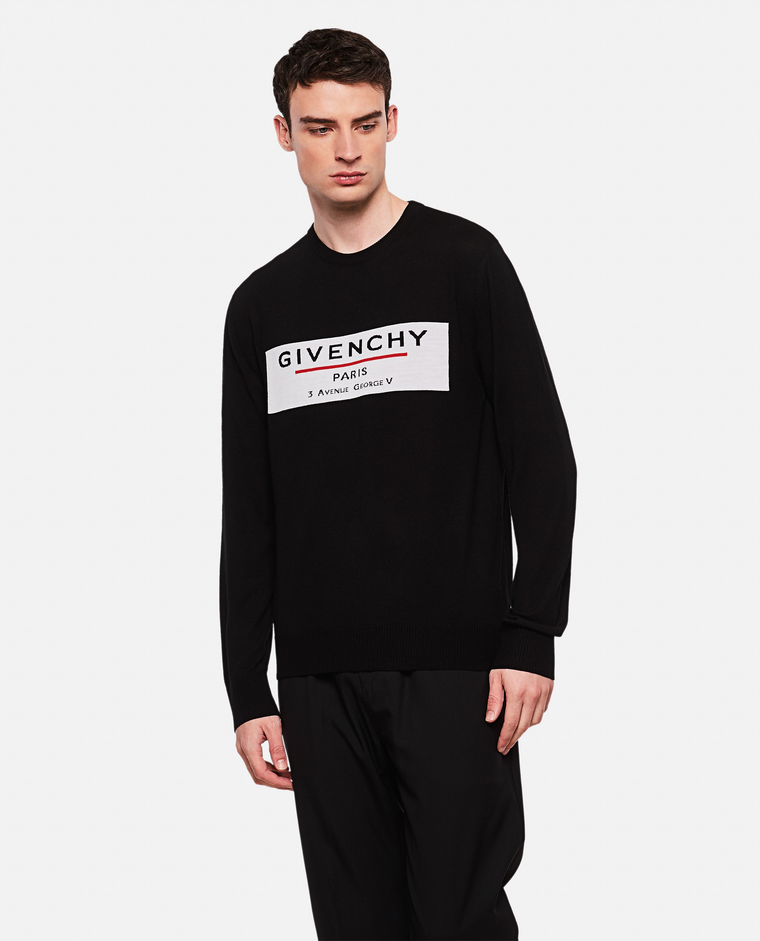 Crew neck wool pullover Men Givenchy 000226520033493 1