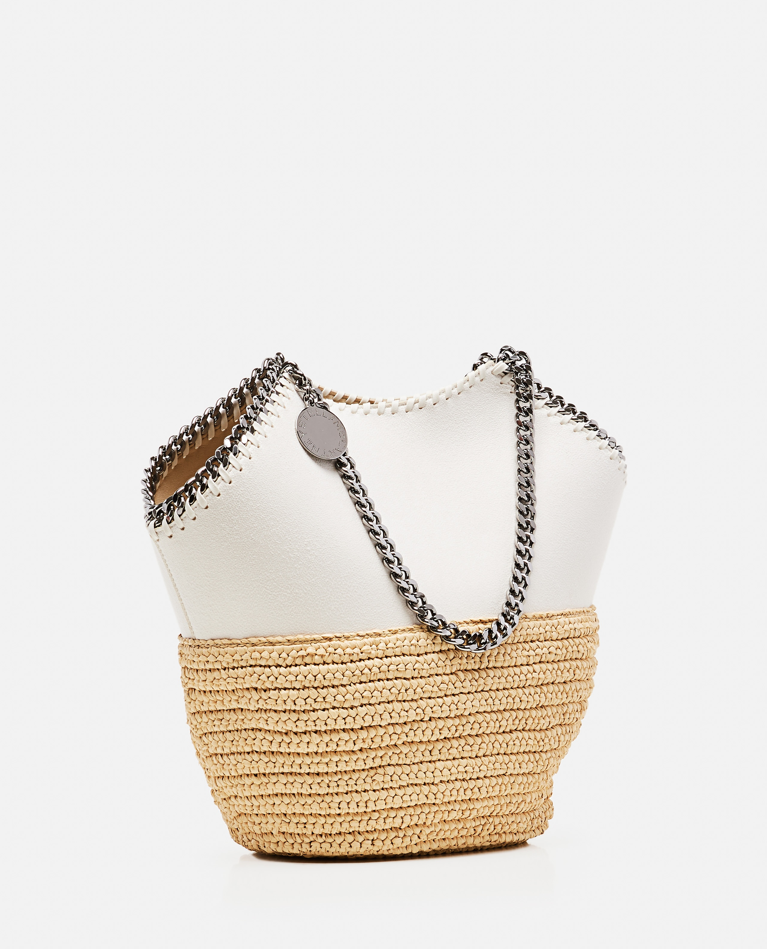 Falabella Tote Media in Rafia Donna Stella McCartney 000308090045179 2