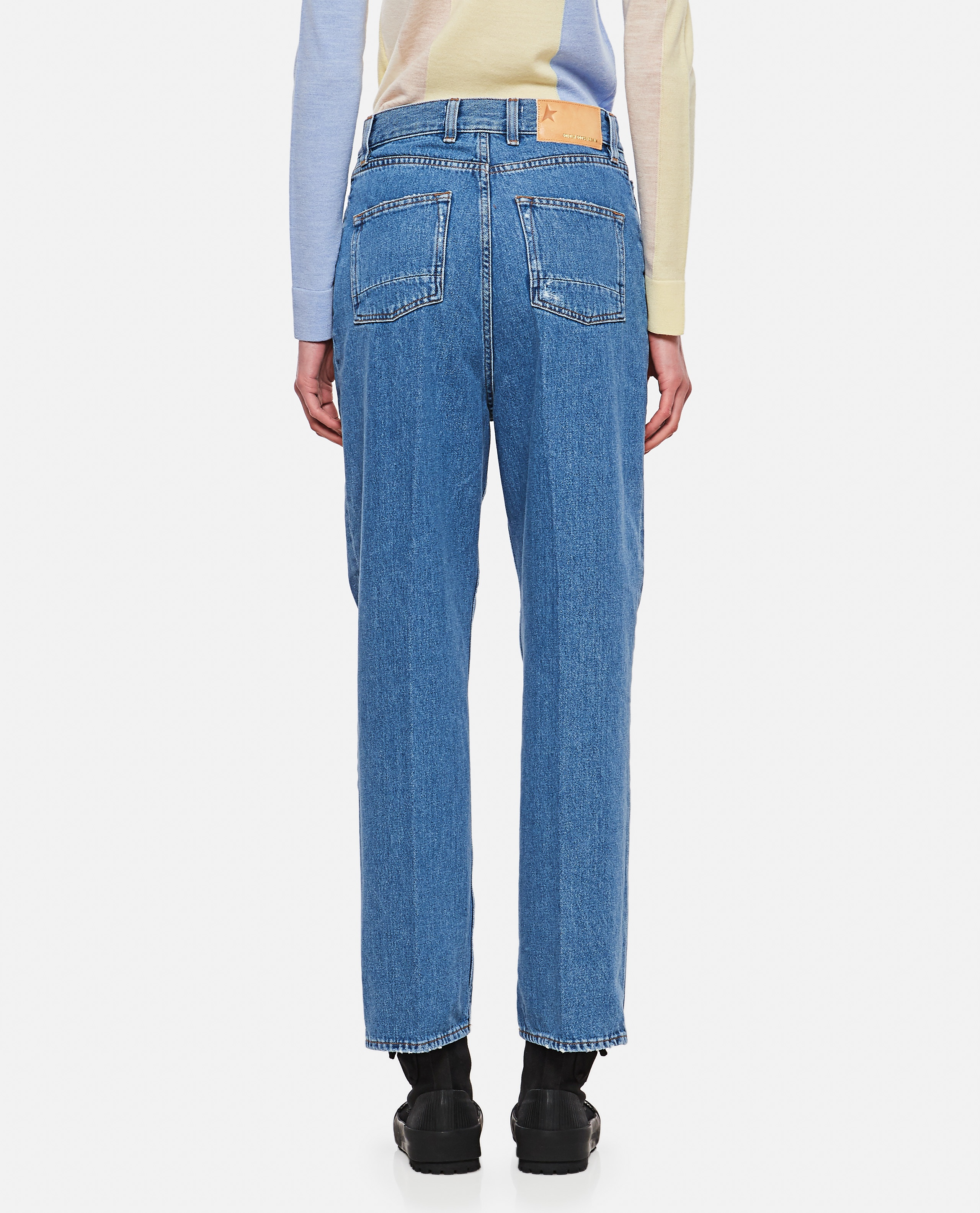 Kim jeans in denim with applied crystals Women Golden Goose 000286420042265 3