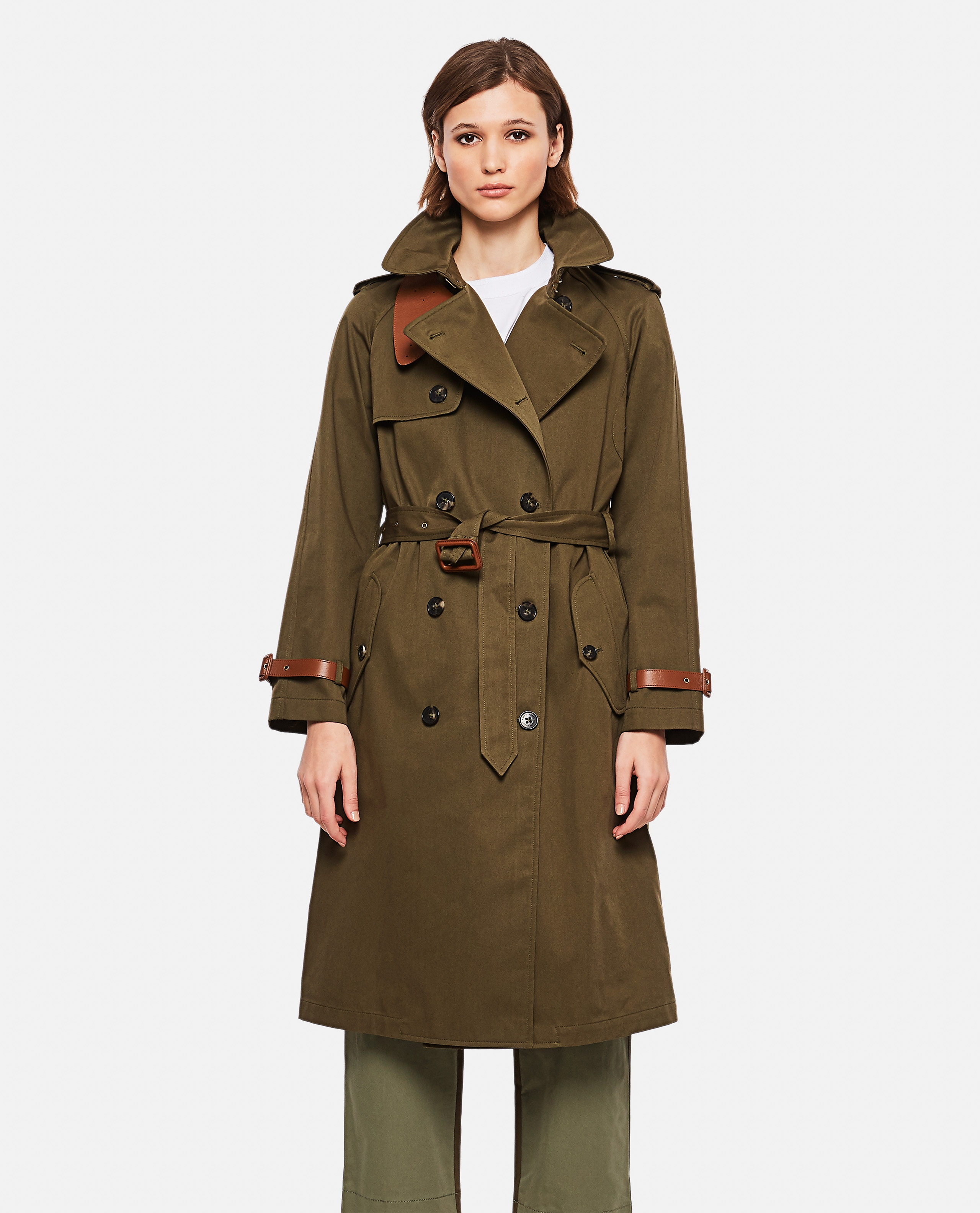 Double-breasted trench coat Women Ralph Lauren Collection 000221310032758 1