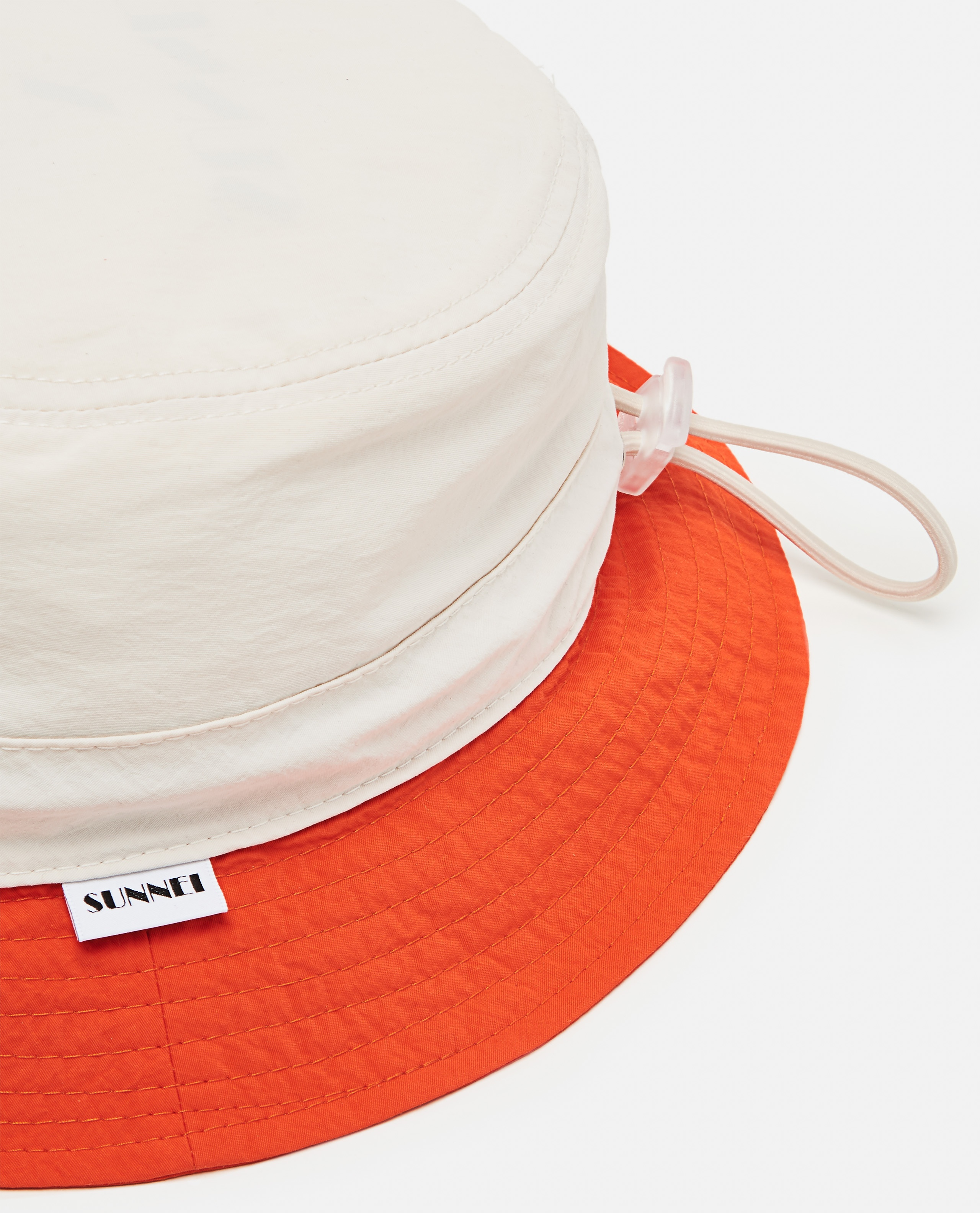 Cappello bucket in nylon  Uomo Sunnei x Biffi 000300180044132 2