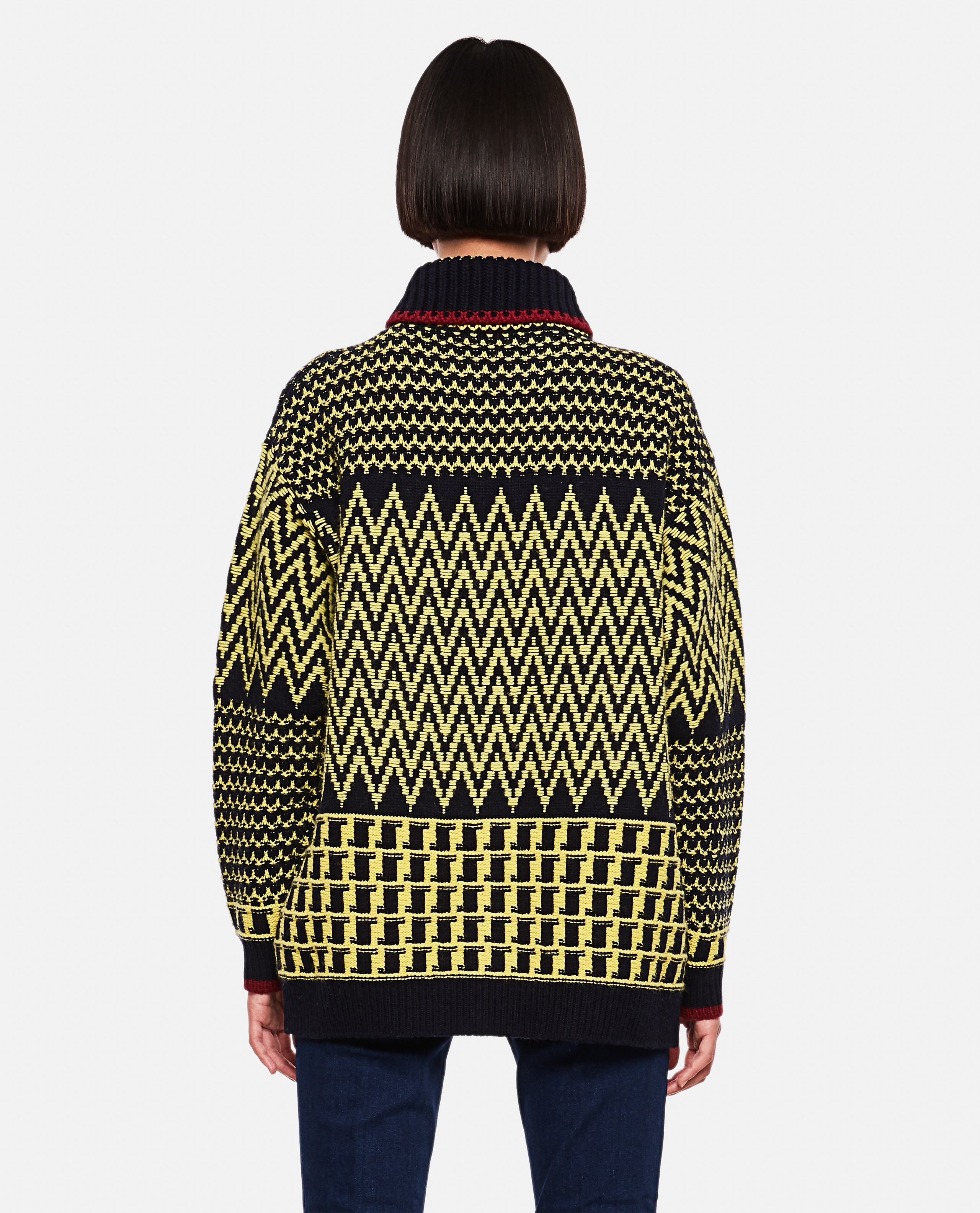 Virgin wool cardigan Women Stella McCartney 000255990037818 3
