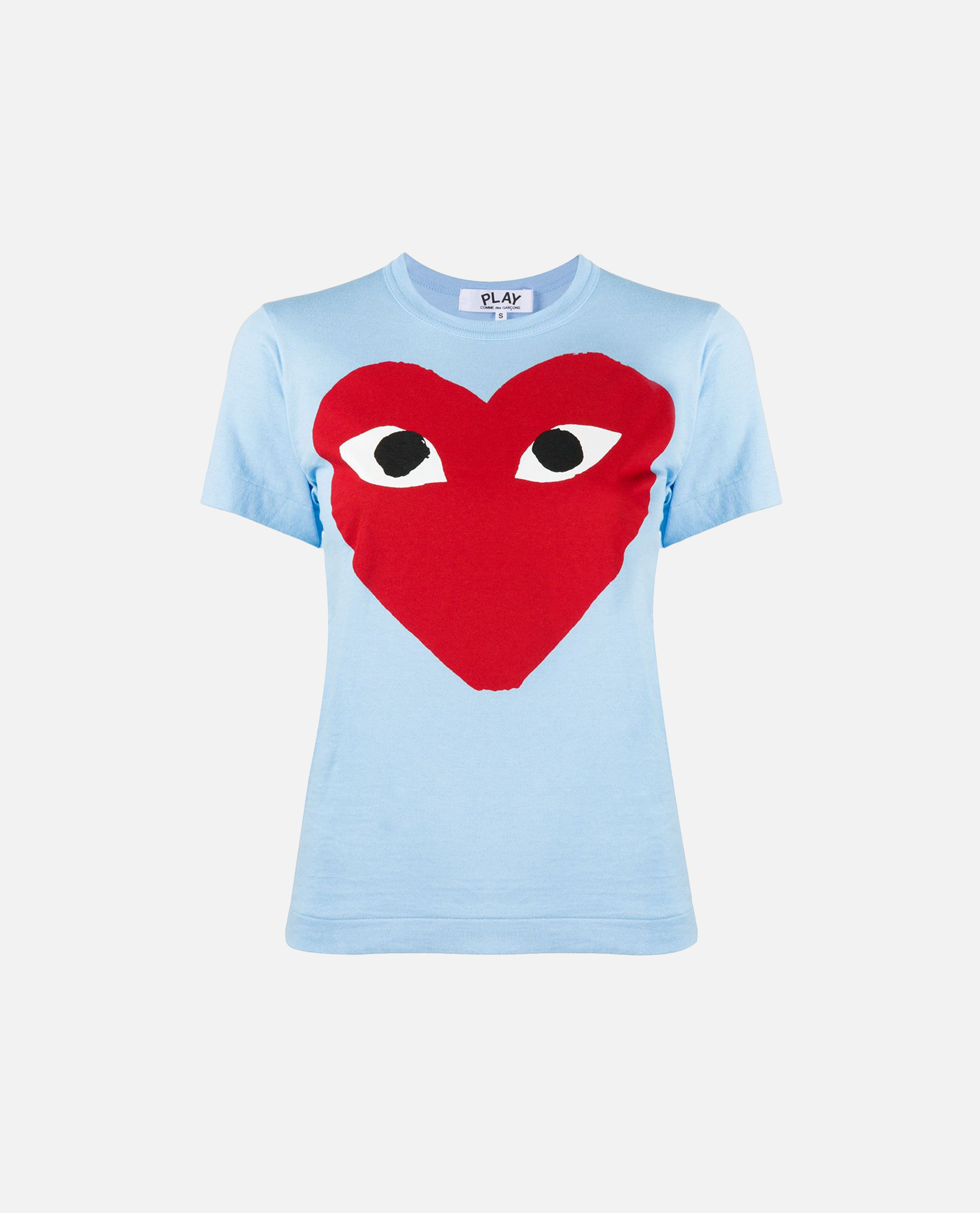 T-shirt con stampa Donna Comme des Garcons Play 000226050033434 1