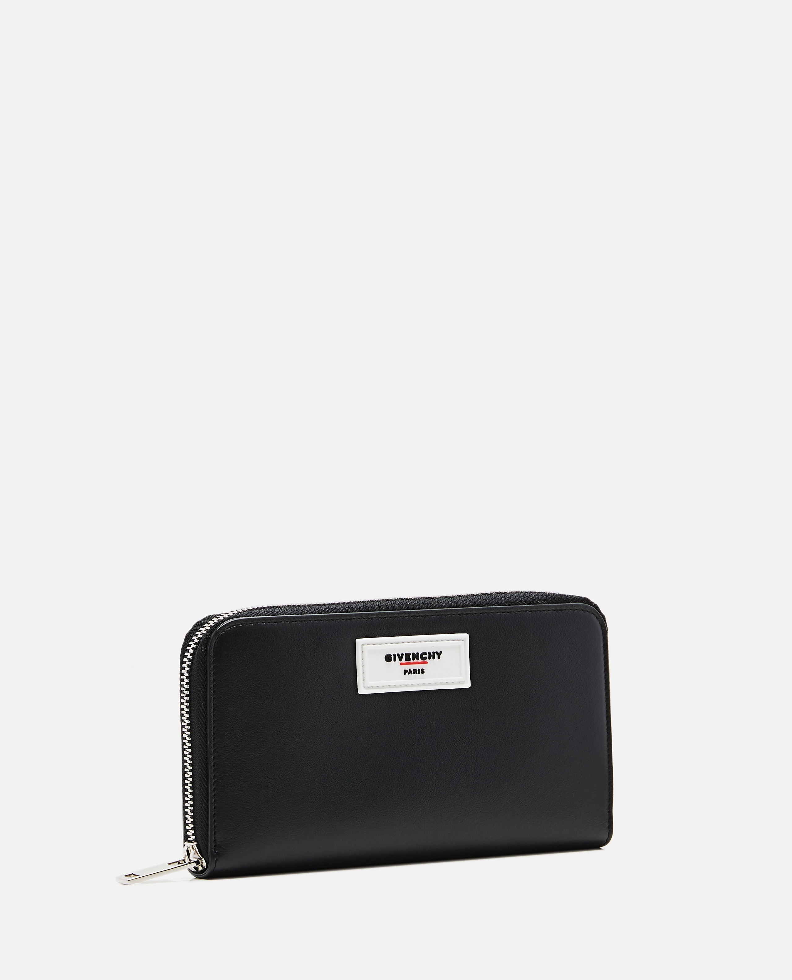 Black smooth leather wallet Men Givenchy 000226150033447 2