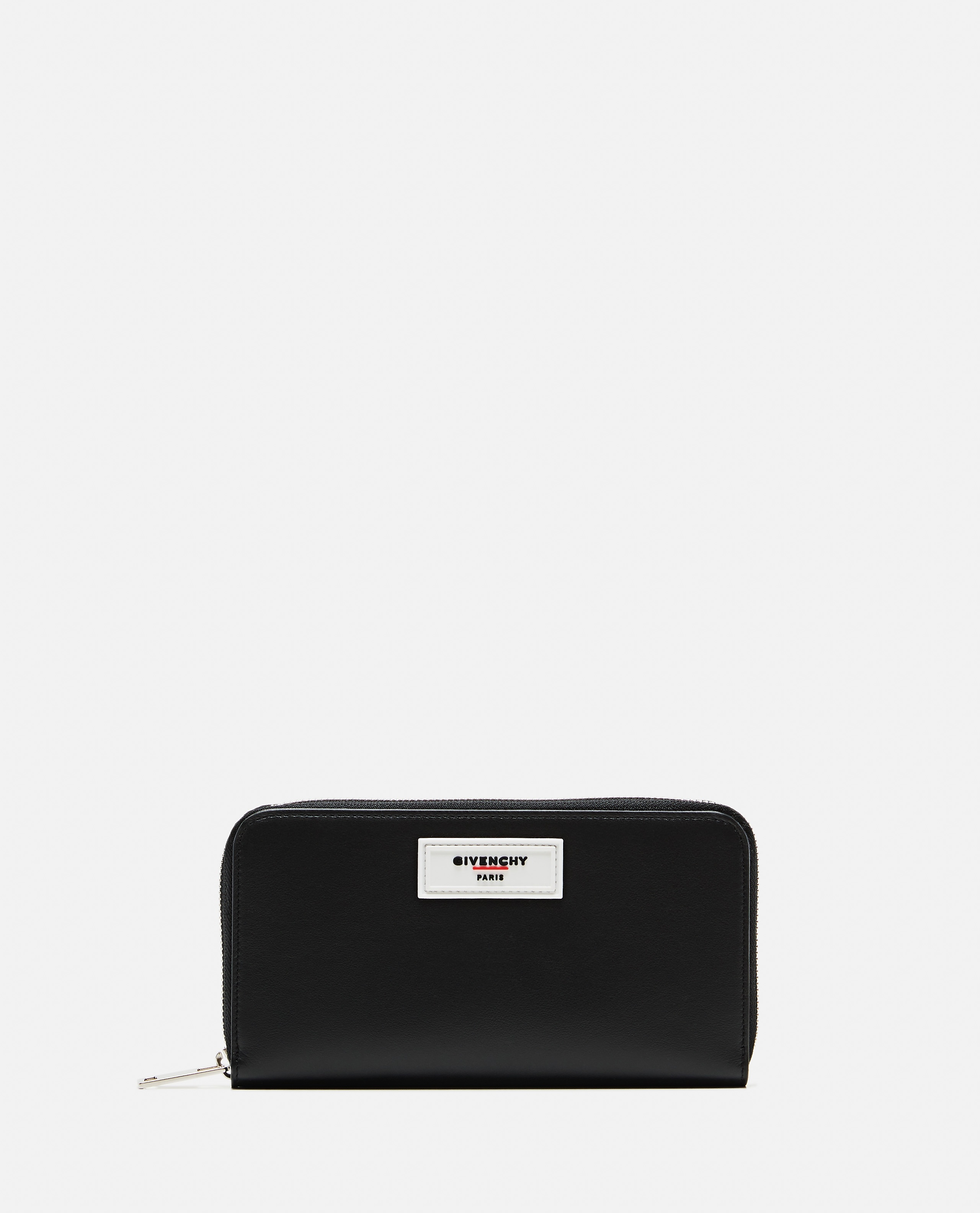 Black smooth leather wallet Men Givenchy 000226150033447 1