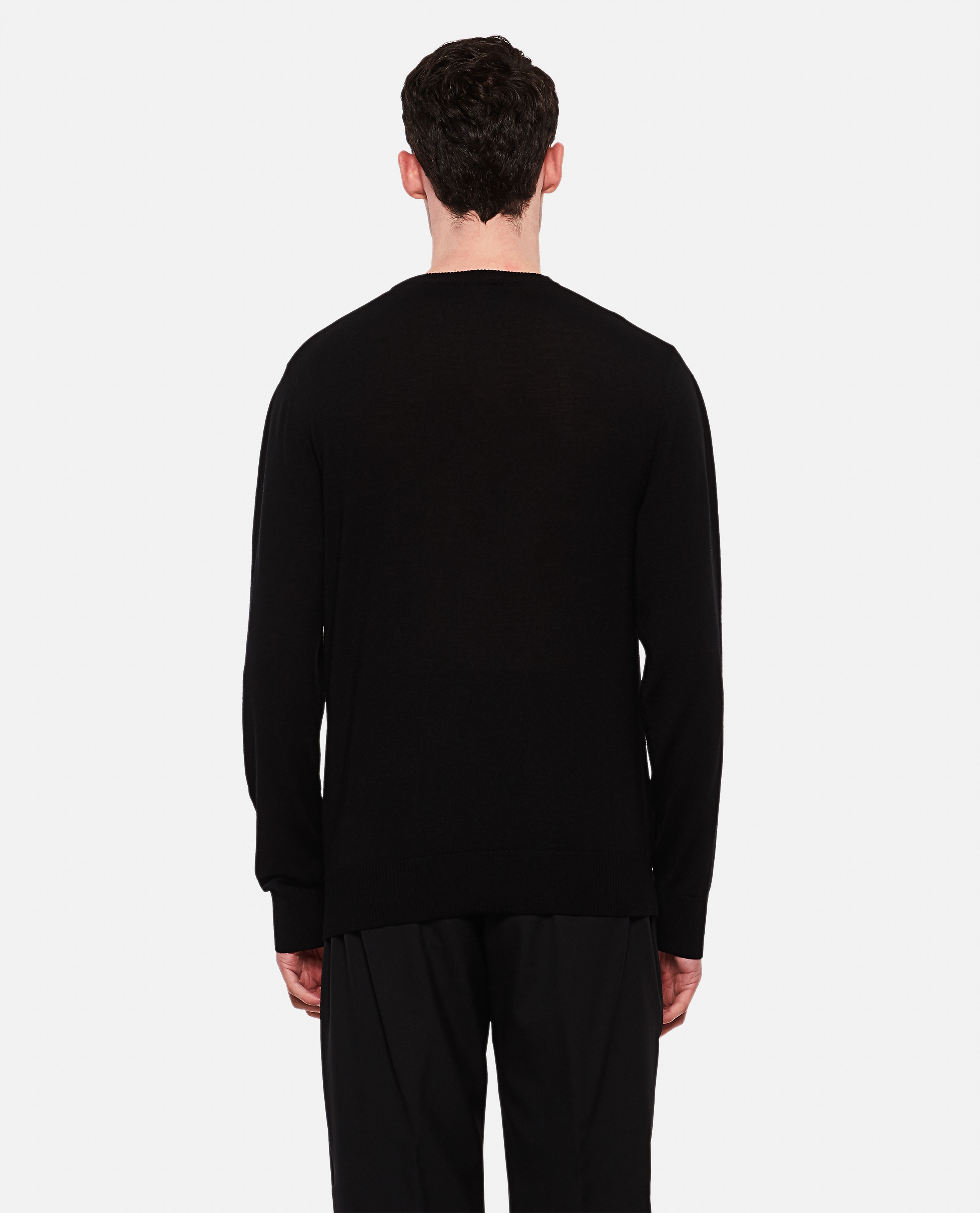 Crew neck wool pullover Men Givenchy 000226520033493 3