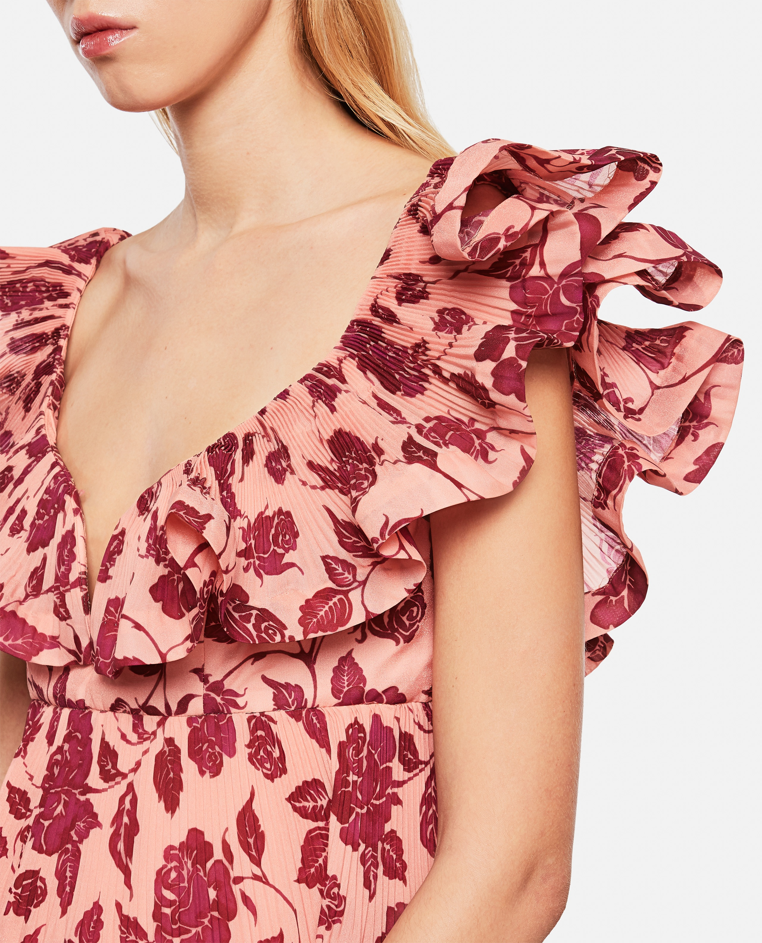 'The Lovestruck Pleated' dress Women Zimmermann 000290860042827 4