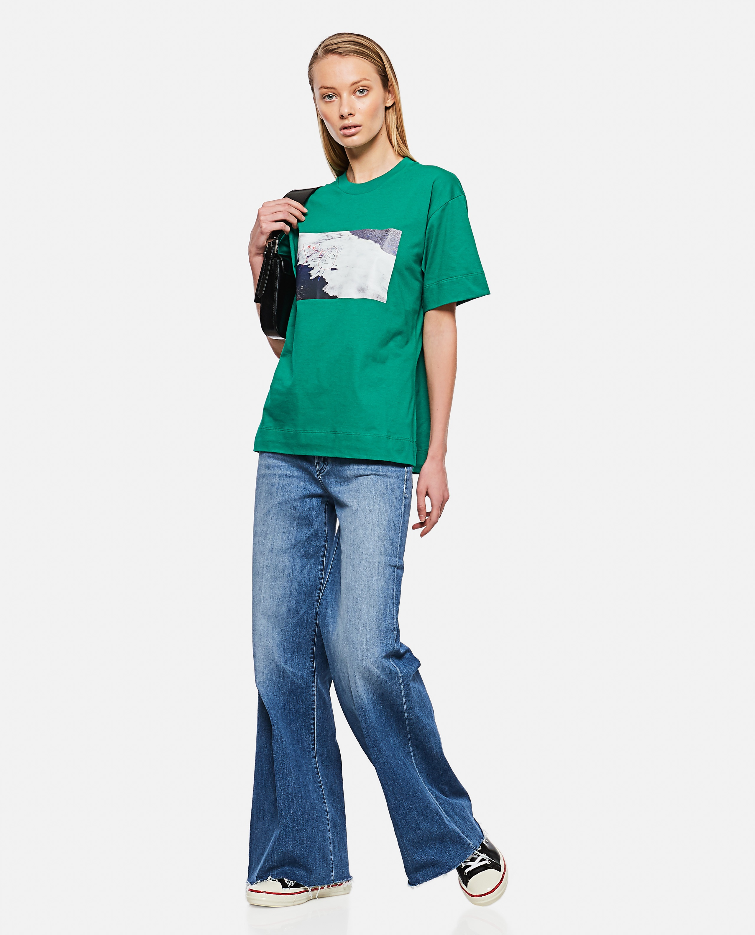 """""""The Tomcat Roller Fray"""" Jeans Donna Mother 000289930042707 2"""