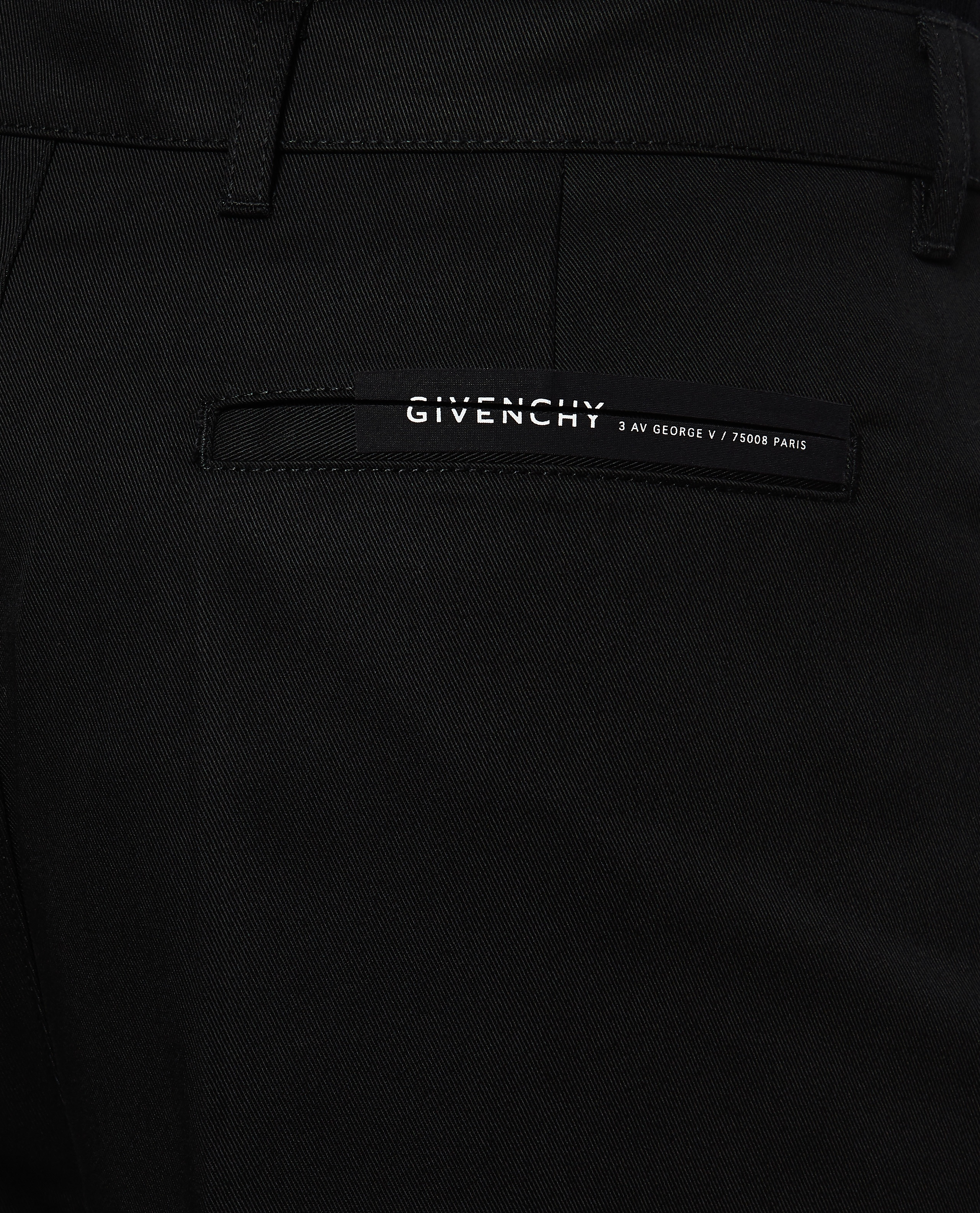 Cotton crop tailored chinos Men Givenchy 000226620033503 4