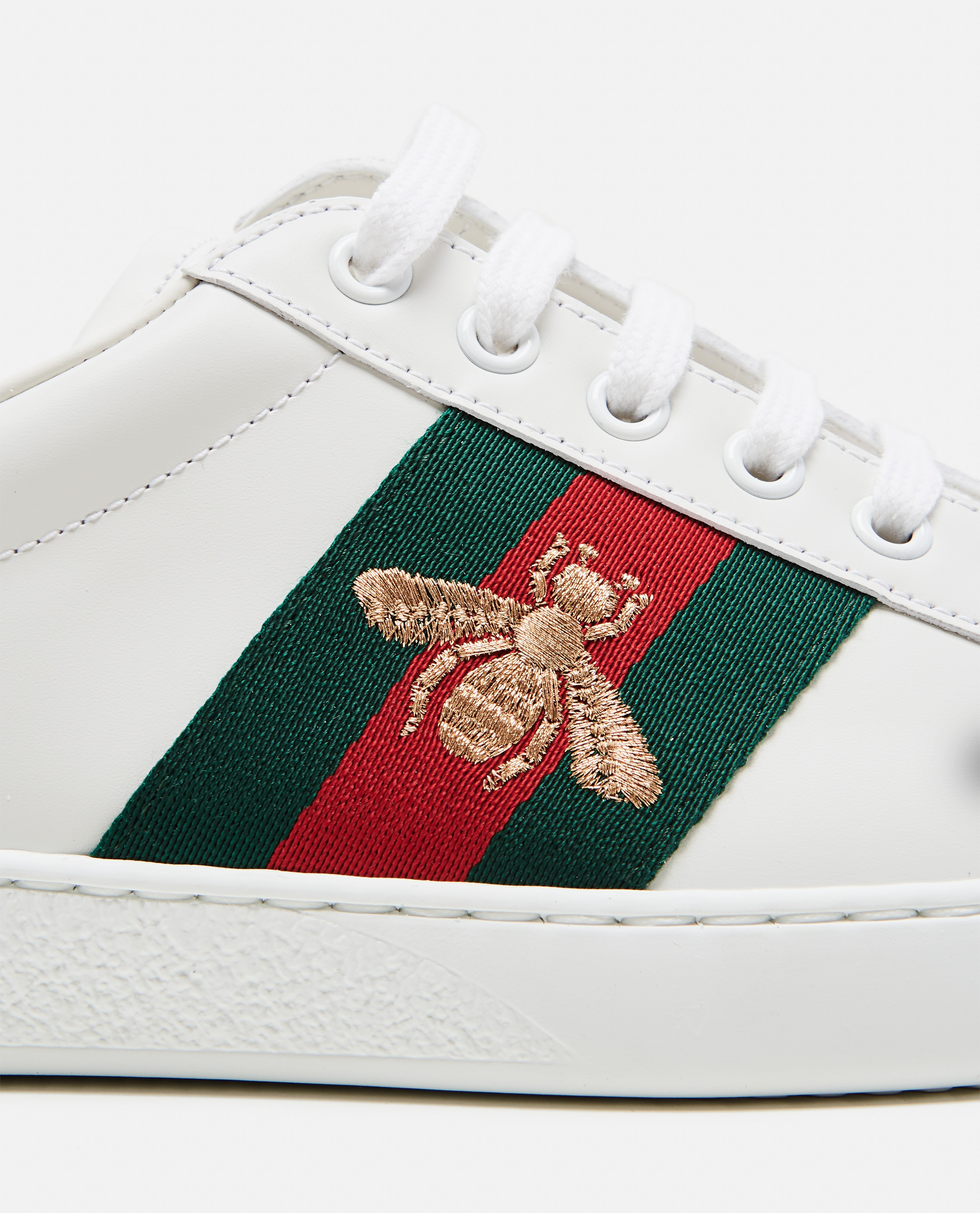 Embroidered men's Ace sneaker Men Gucci 000267920039520 3