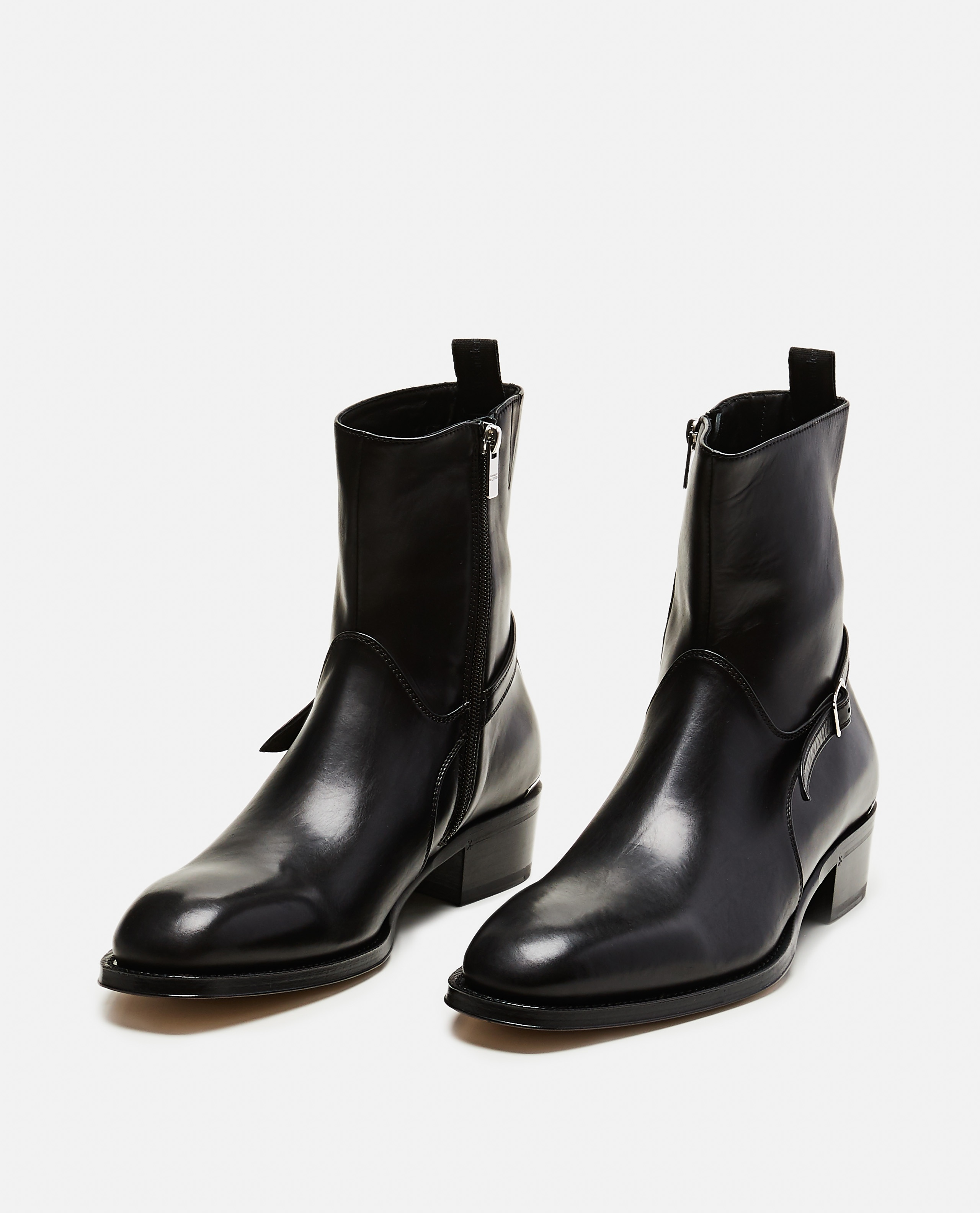 Ankle boots with strap Men Alexander McQueen 000179890026780 2