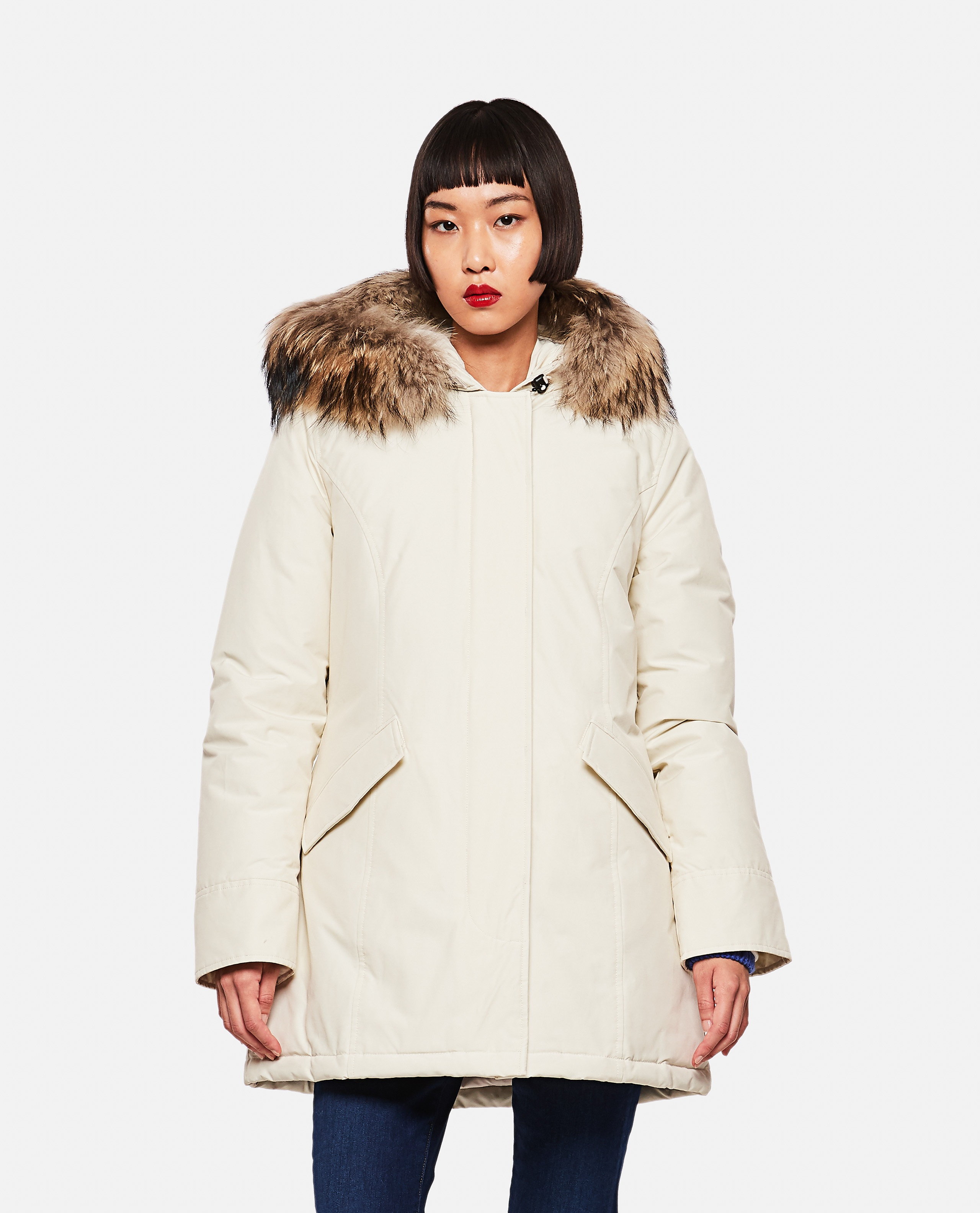 Parka in cotone Donna Woolrich 000275740040628 1