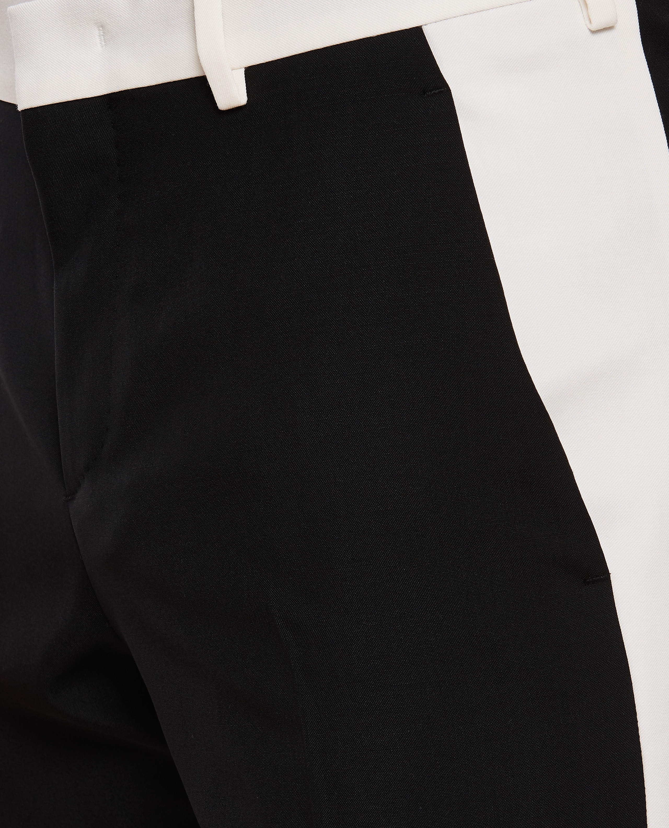 Trousers with side bands Men Valentino 000263920039003 4