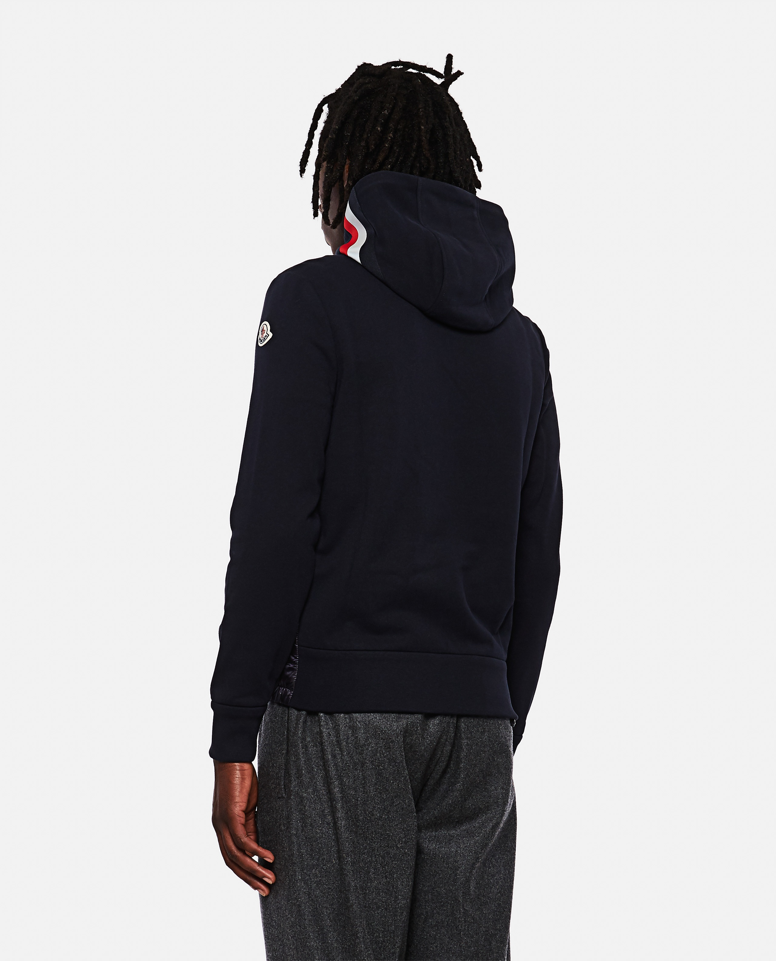 Padded sweatshirt with zip Men Moncler 000271600040013 3