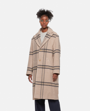 Le manteau Carro Women Jacquemus 000262640038858 1