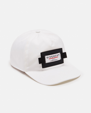 Cap with curved nylon visor