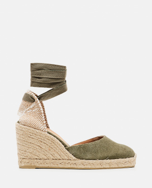Carina espadrille in canvas with 9 cm wedge Women Castaner 000286050042239 1