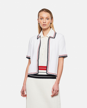 Top with worked hem Donna Thom Browne 000295630043466 1