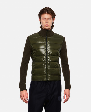 Sweater with padded detail