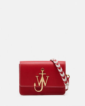 Anchor bag with plaque
