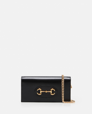 Gucci Horsebit 1955 wallet with chain Women Gucci 000287480042381 1